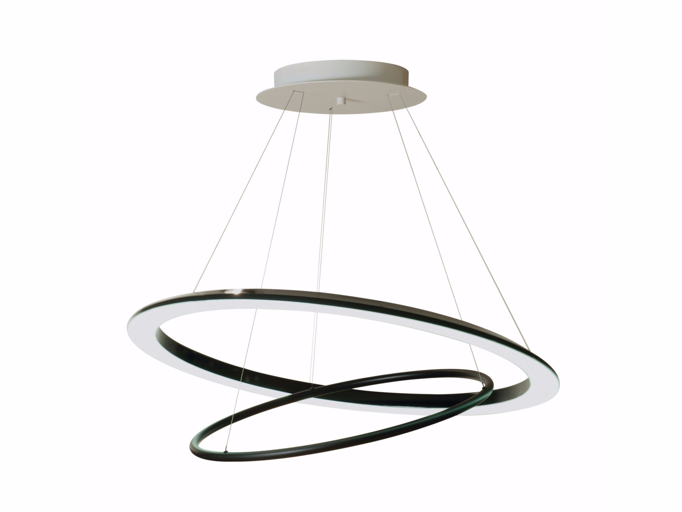 Suspension led orientable o o by roche bobois design julien groboz - Suspension roche bobois ...
