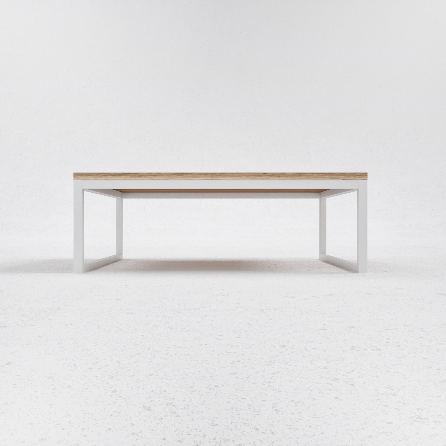 Low Steel And Wood Coffee Table O3 By Odesd2 Design Svyatoslav Zbroy