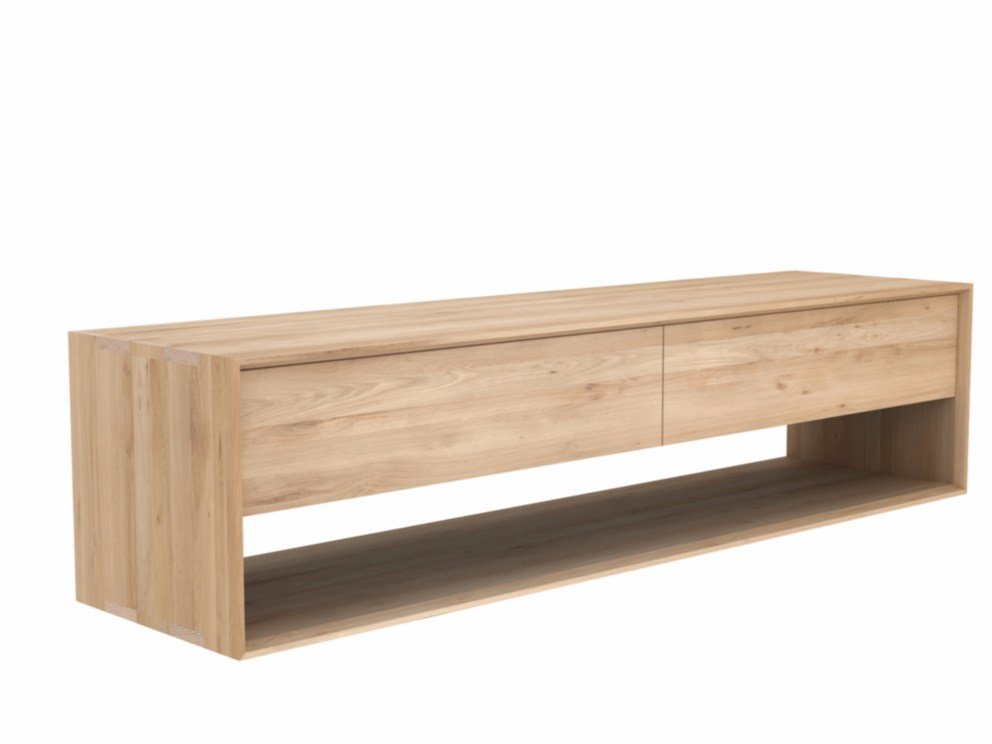 Oak Nordic Solid Wood Tv Cabinet By Ethnicraft