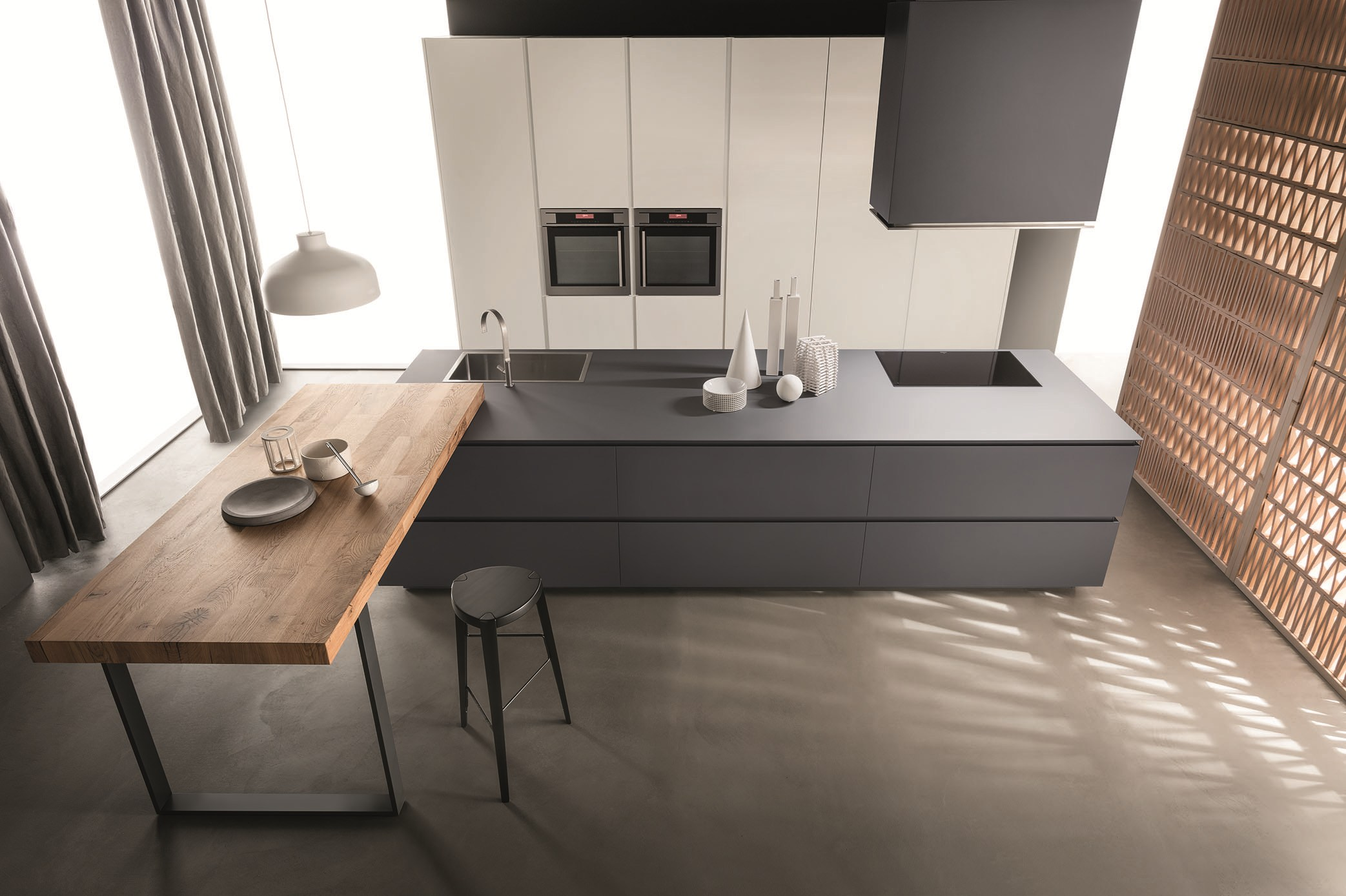 Kitchen obliqua by ernestomeda design r d ernestomeda - Ernesto mera ...