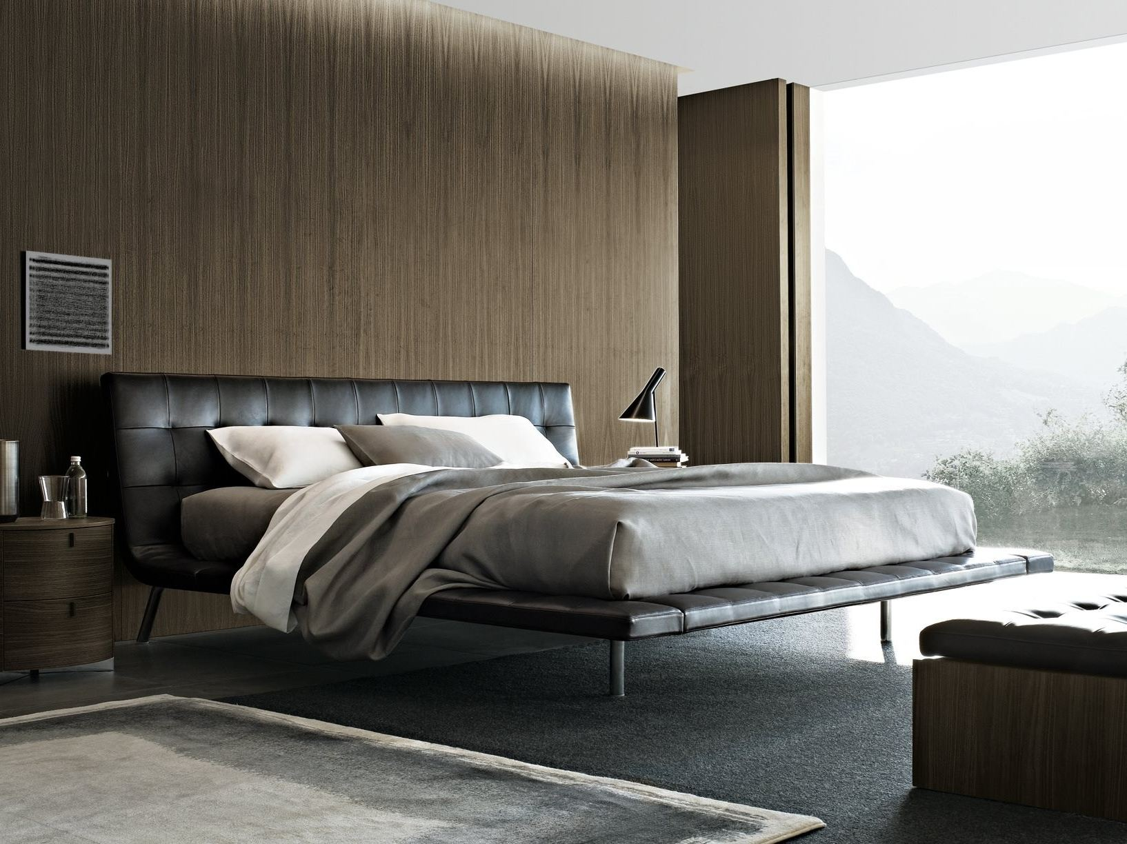onda lit double by poliform design paolo piva. Black Bedroom Furniture Sets. Home Design Ideas