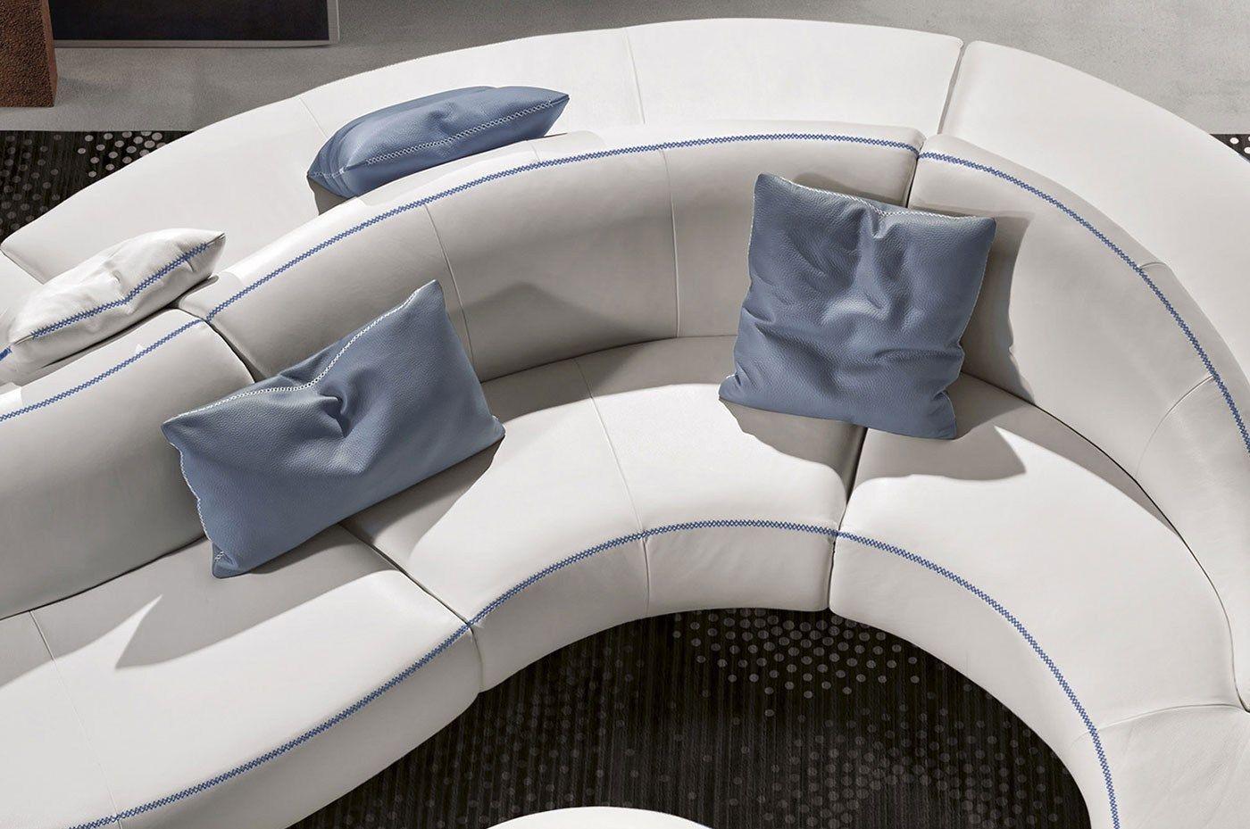 Onda divano rotondo by italy dream design kallist for Divano rotondo
