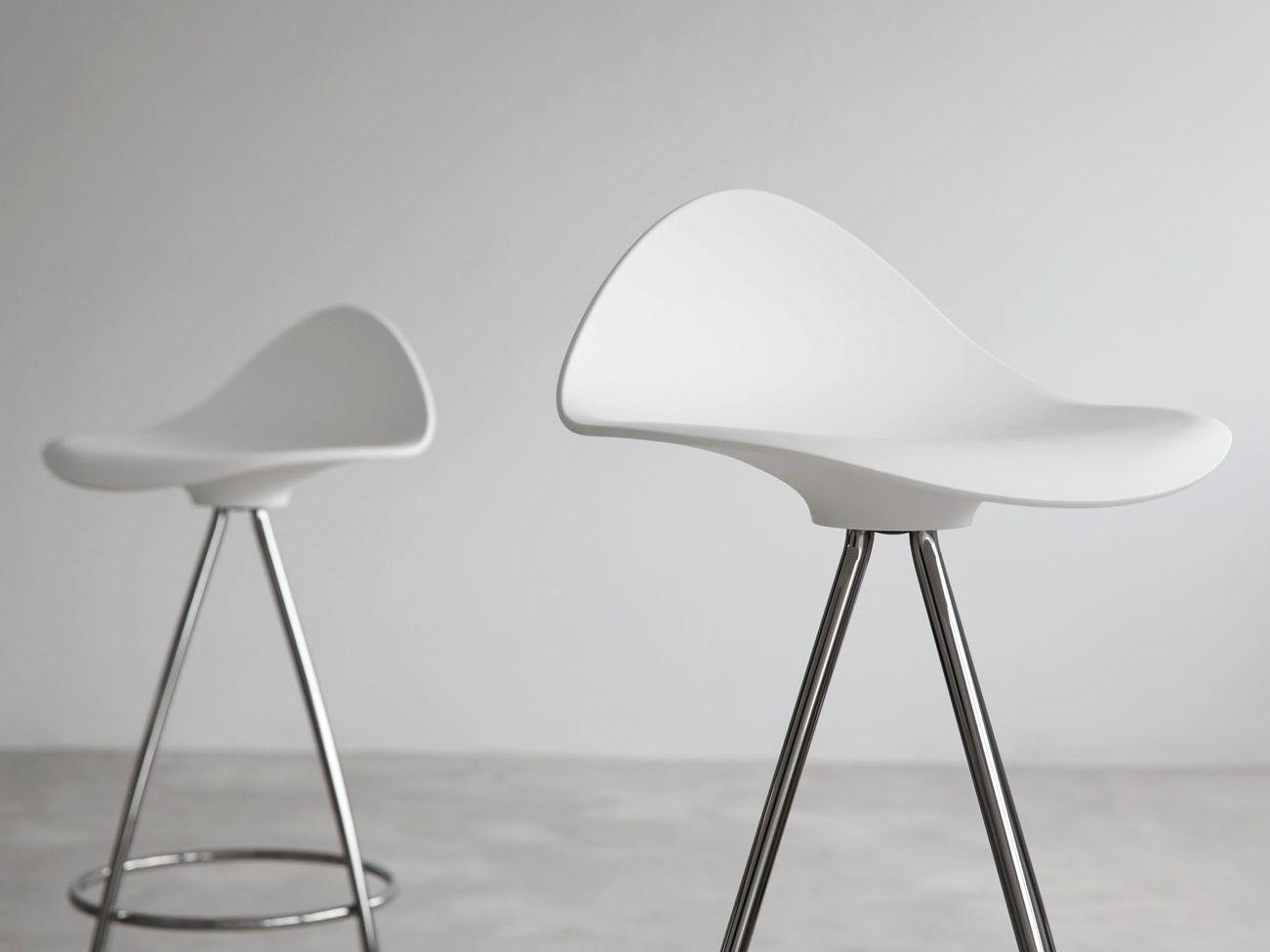 Onda Stool With Footrest By Stua Design Jes 250 S Gasca