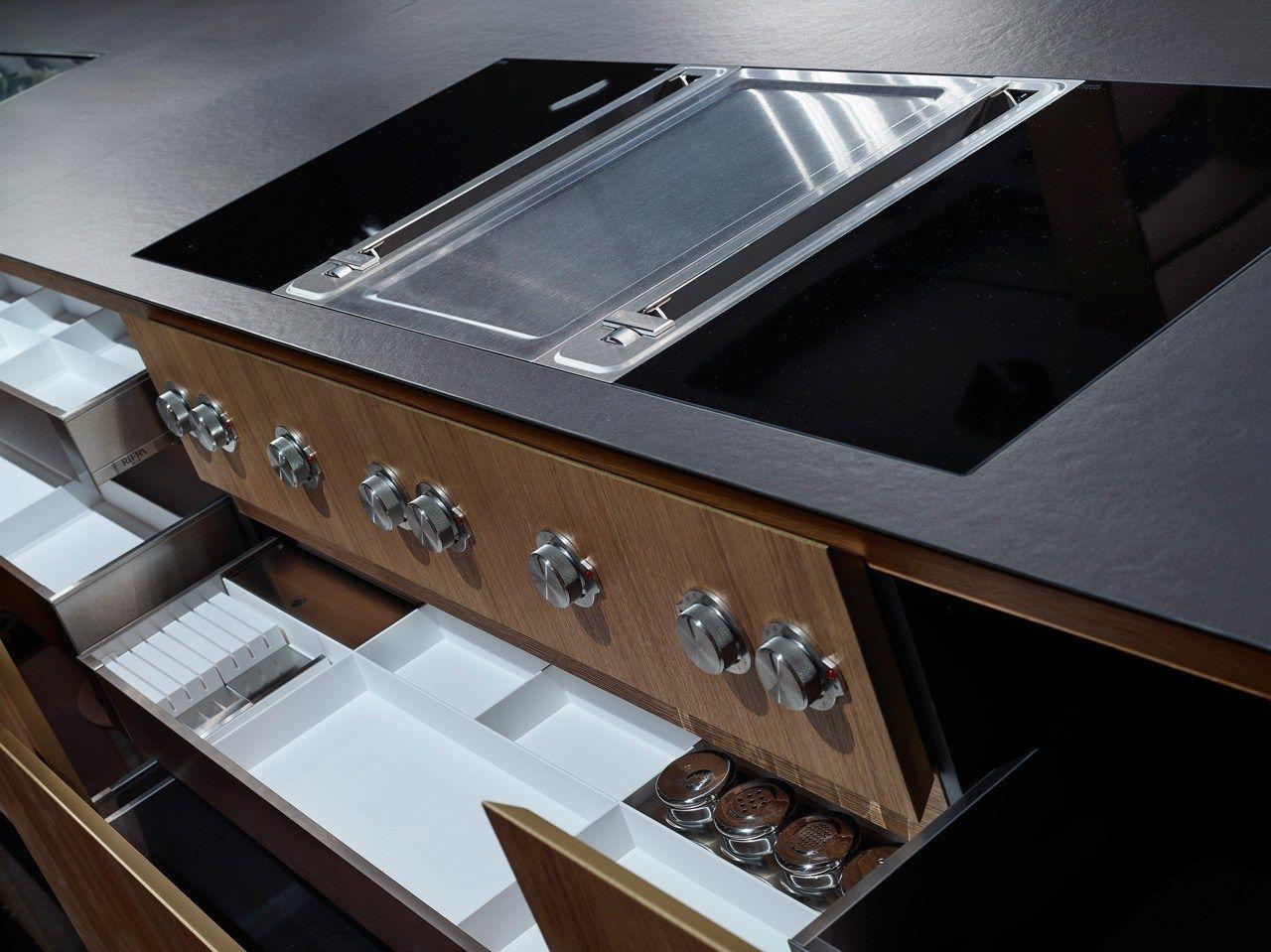 one k che aus eichenholz by rifra design rifra lab. Black Bedroom Furniture Sets. Home Design Ideas