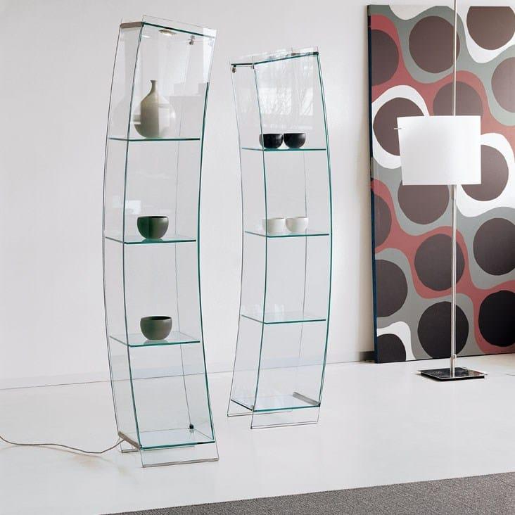 Vetrina in cristallo OPEN WIND by Cattelan Italia design ...