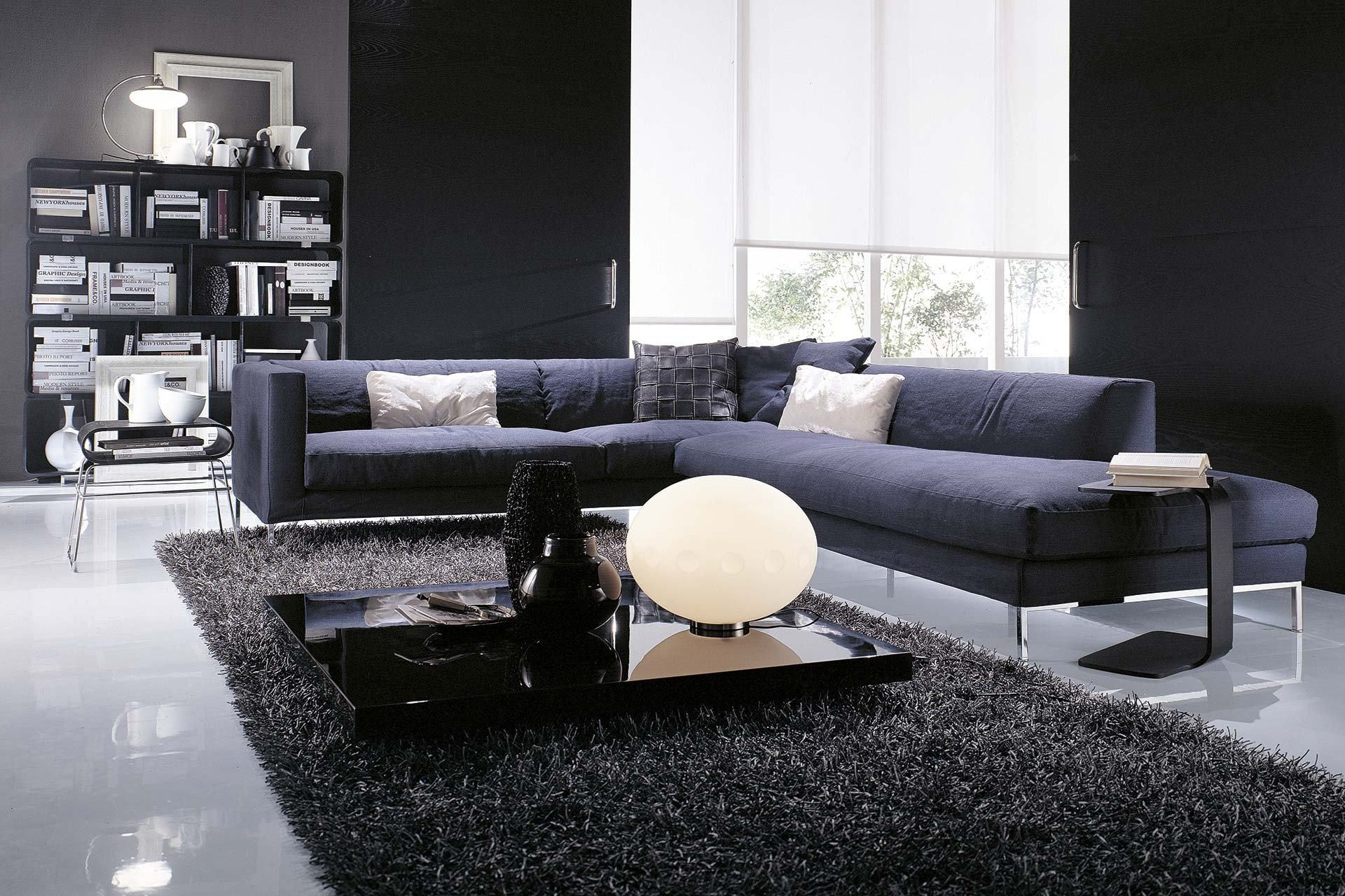 Otto sectional sofa by frigerio poltrone e divani - Poltrone e sofa paris ...