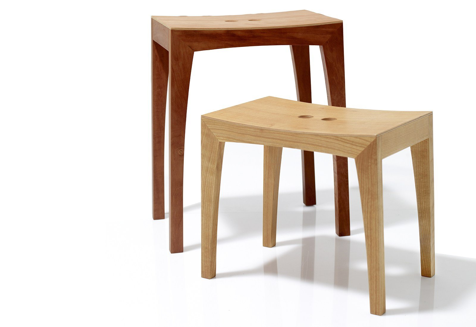 Otto1 hocker aus holz by sixay furniture
