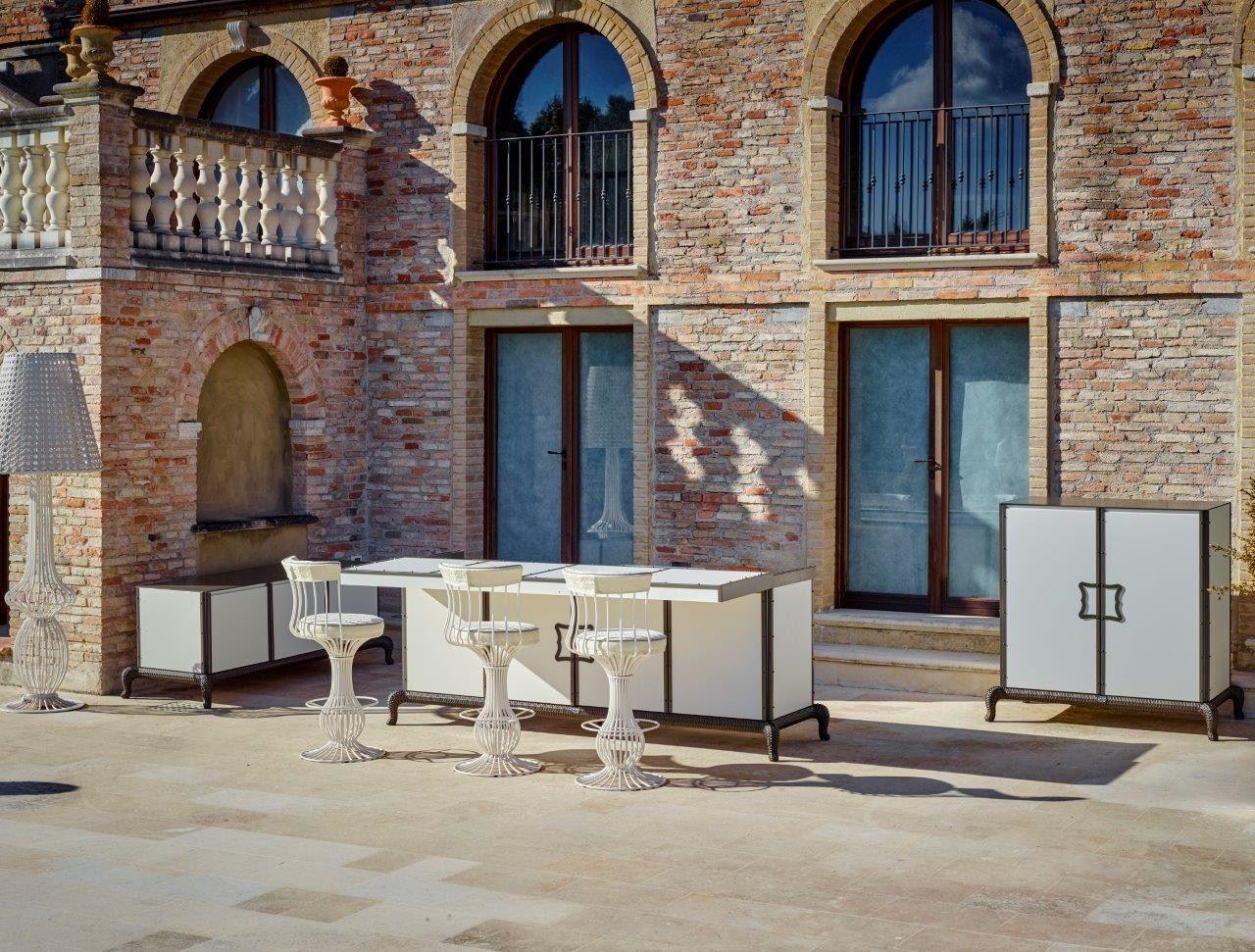 Outdoorküche by Samuele Mazza Outdoor Collection by DFN Design ...
