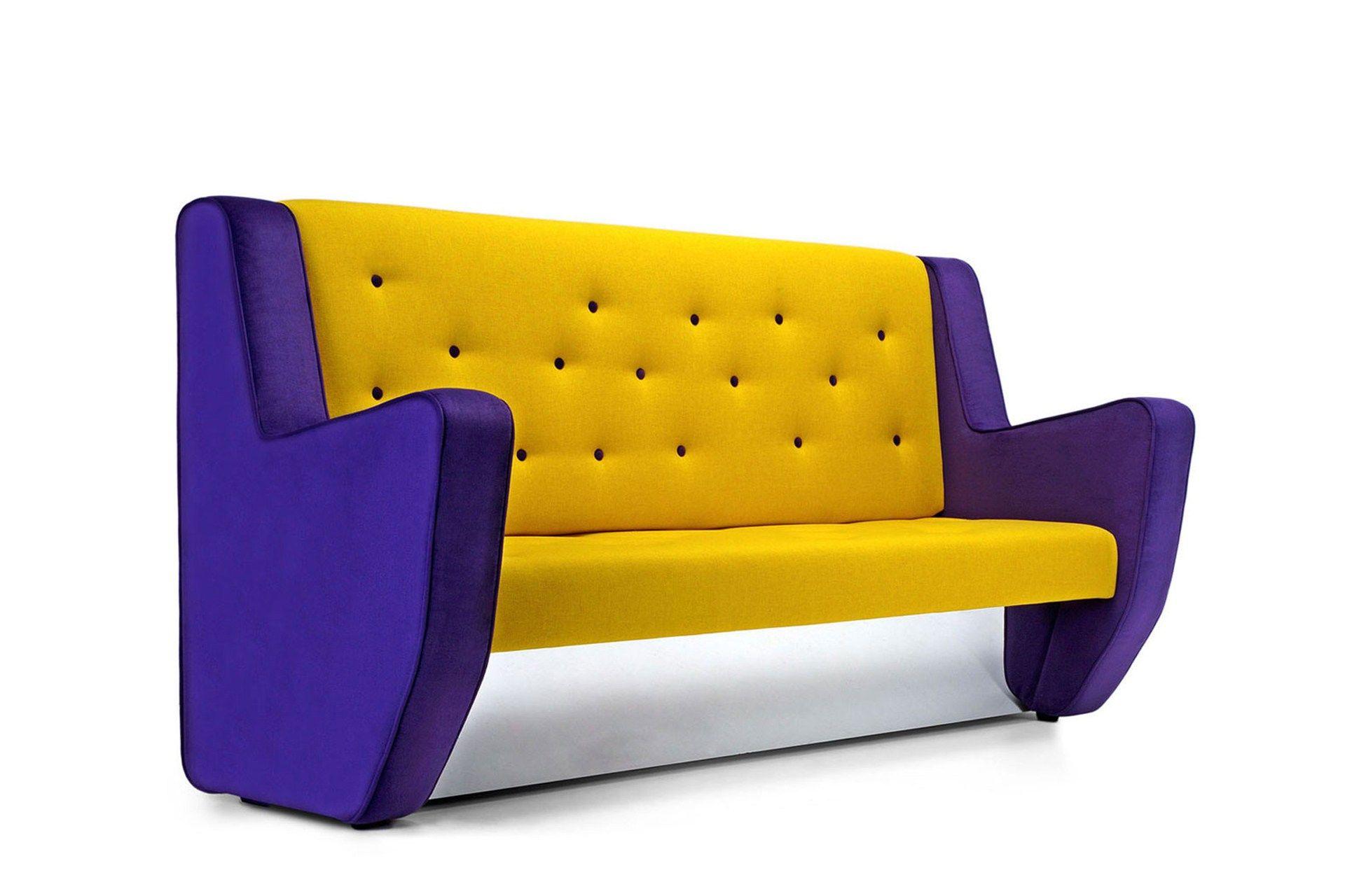 Pank divano by adrenalina design simone micheli - Prodotti per pulire il divano in tessuto ...