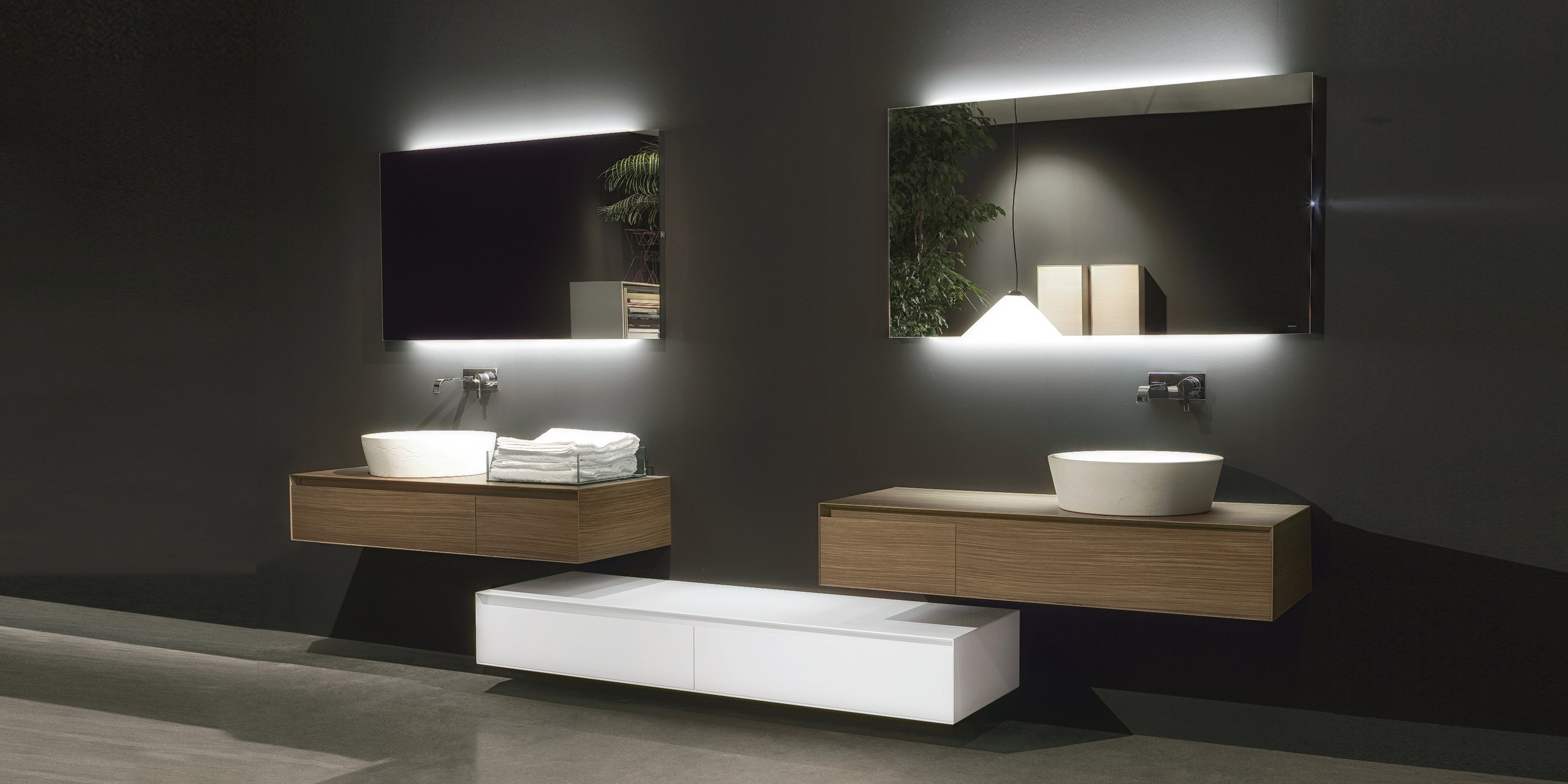 Panta rei by antonio lupi design for Salle de bain complete design