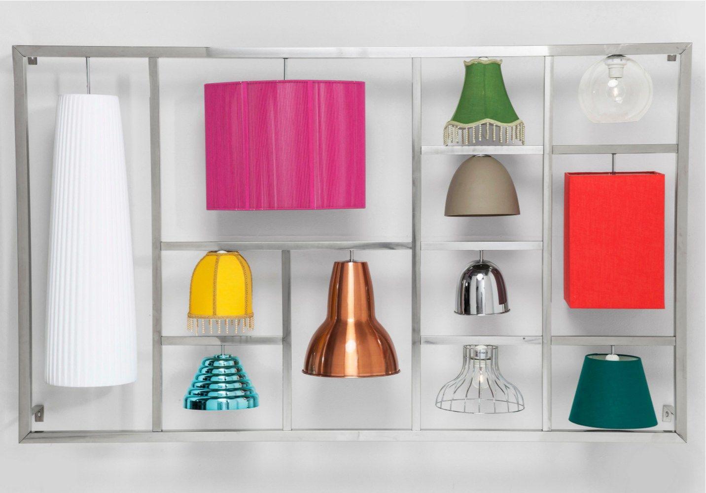 Lampada da parete in stile moderno parecchi illusion by kare design - Lampada da parete design ...