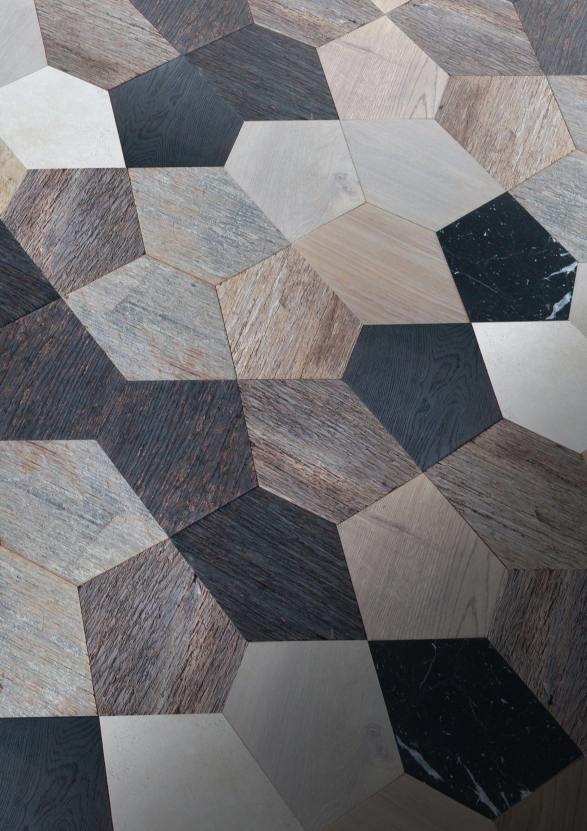 Wooden parquet pentha by idee & parquet