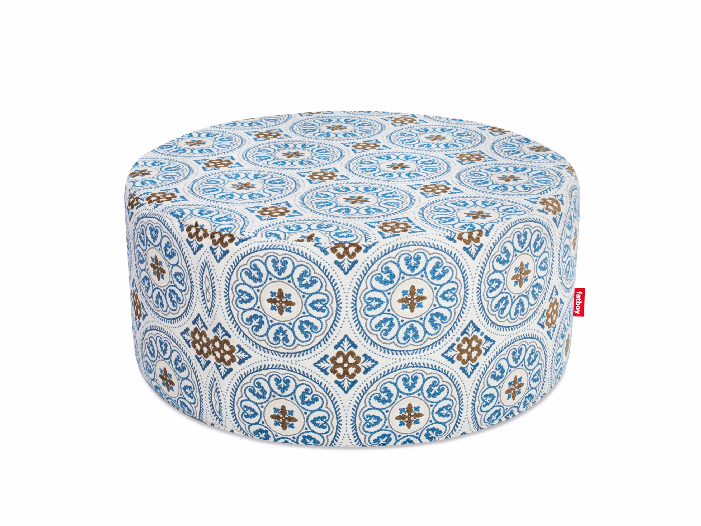 upholstered fabric pouf pfffh by fatboy -