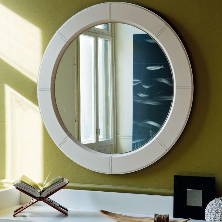 Specchio A Parete Con Cornice Photo By Cattelan Italia
