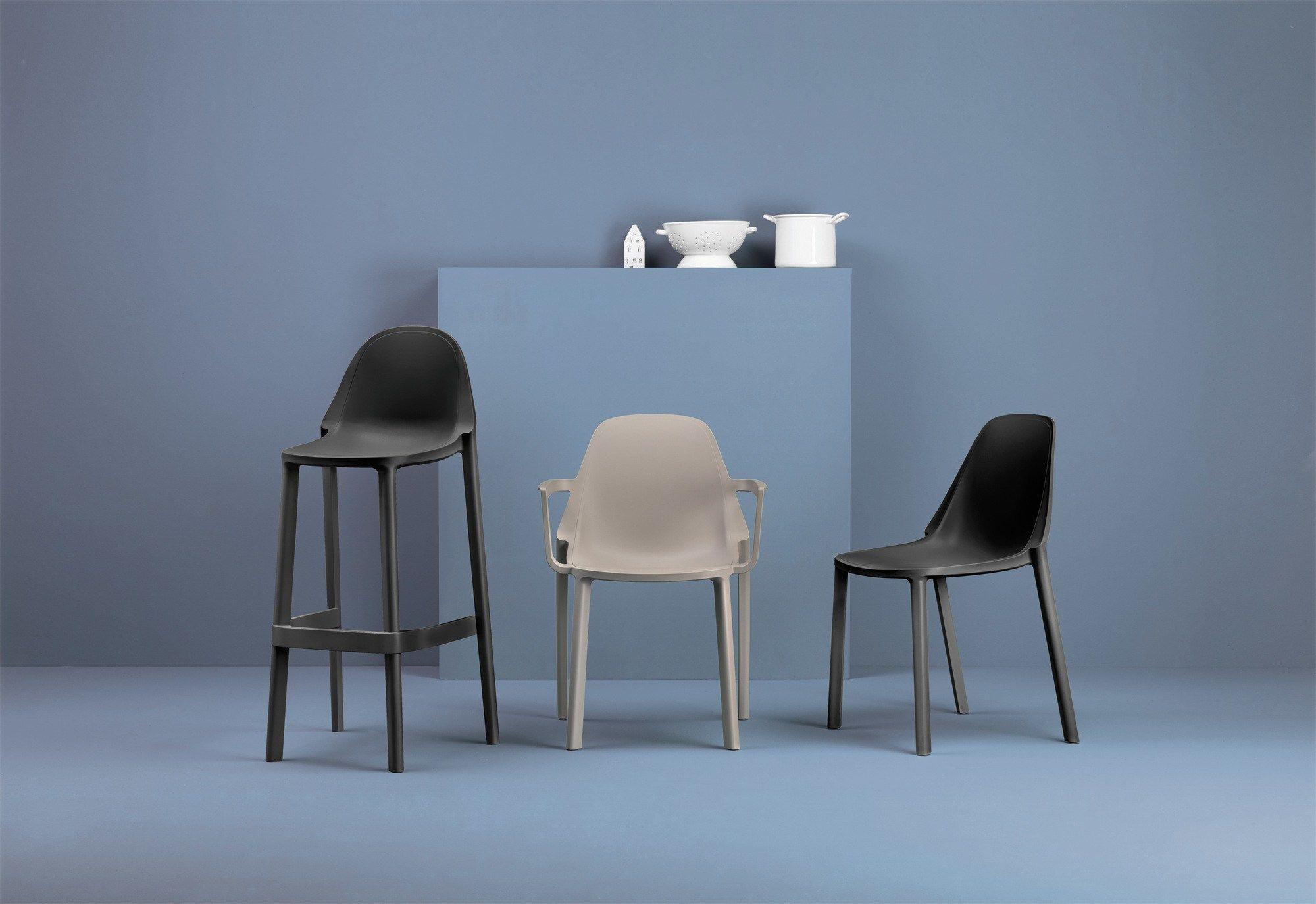 Pi sedia alta by scab design for Sedia alta