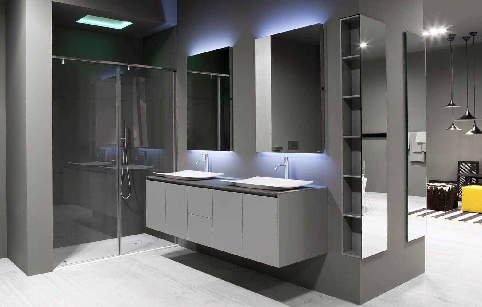 Arredo bagno completo PIANA - Antonio Lupi Design®