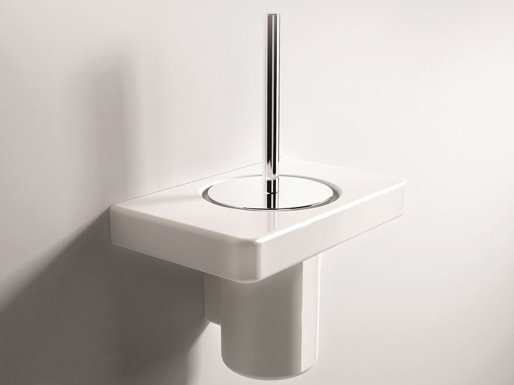 Piano brosse de toilette by hidra ceramica for Brosse toilette murale
