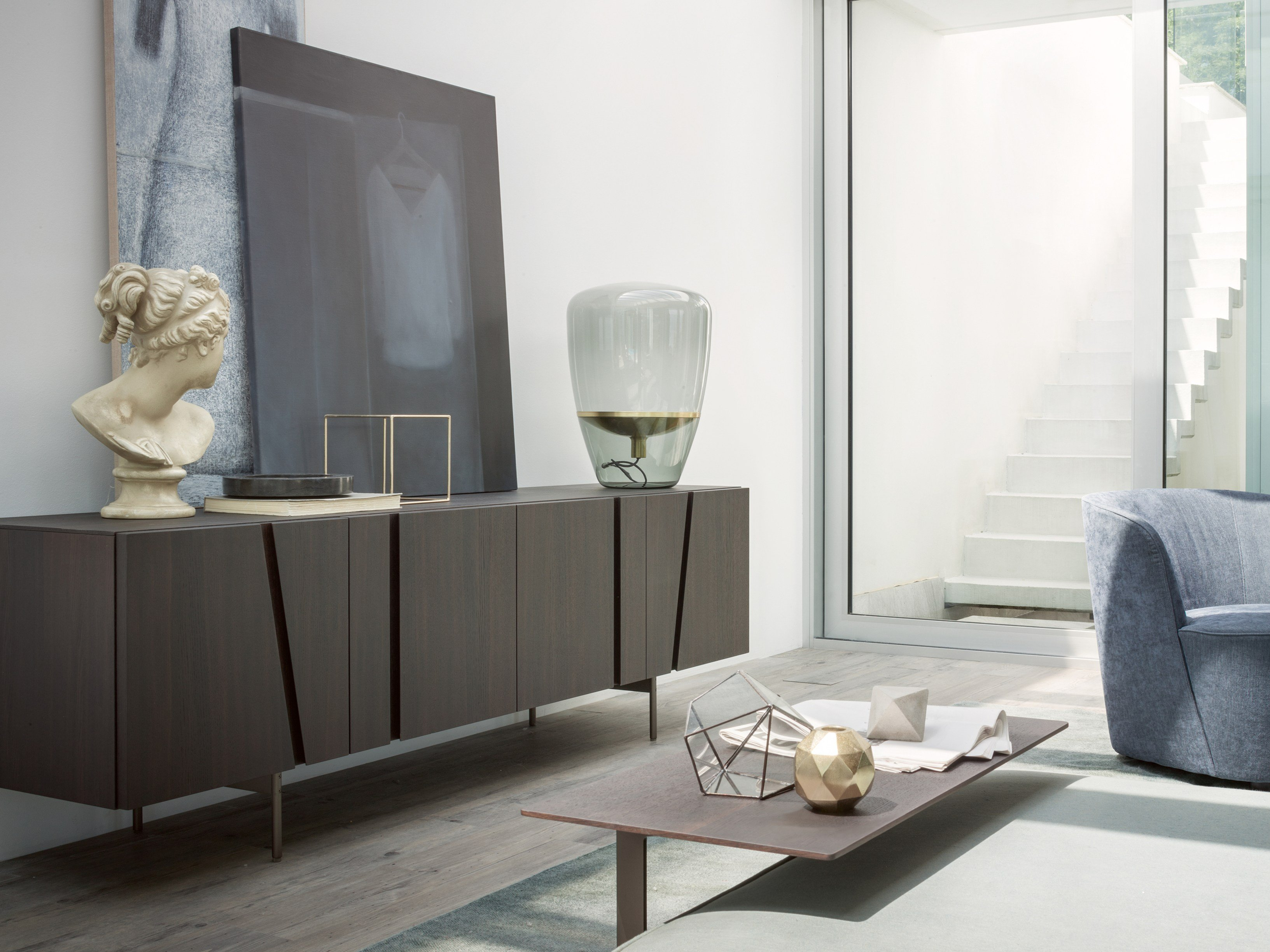 Madia in rovere picture by lema design cairoli donzelli for Madie di design