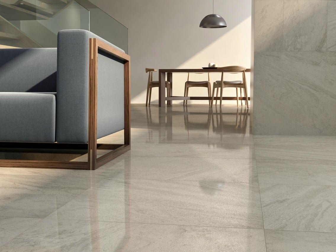Pavimento/rivestimento in gres porcellanato effetto pietra pietre ...