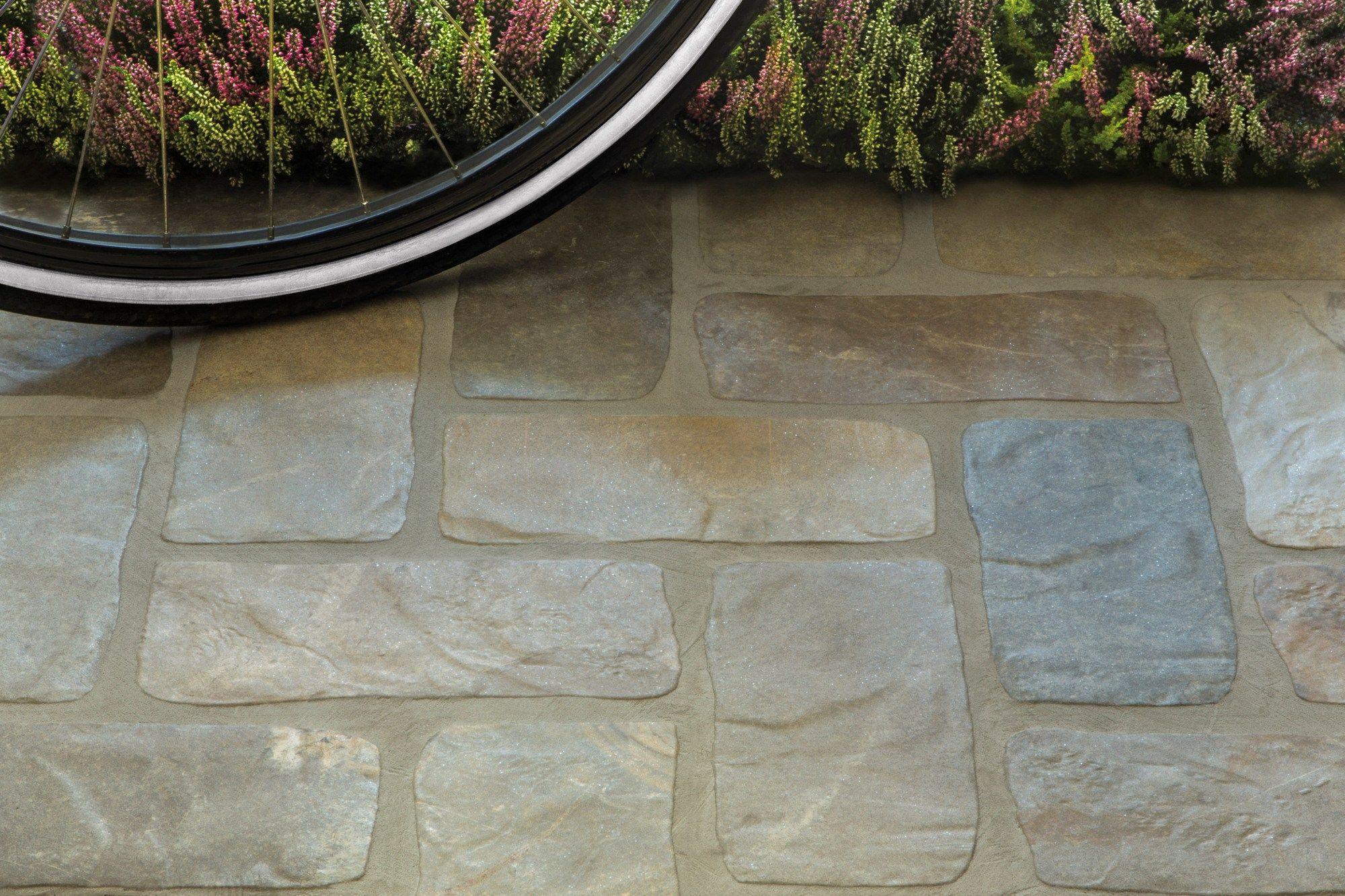 Pavimento rivestimento effetto pietra per interni ed - Pietre per esterni ...