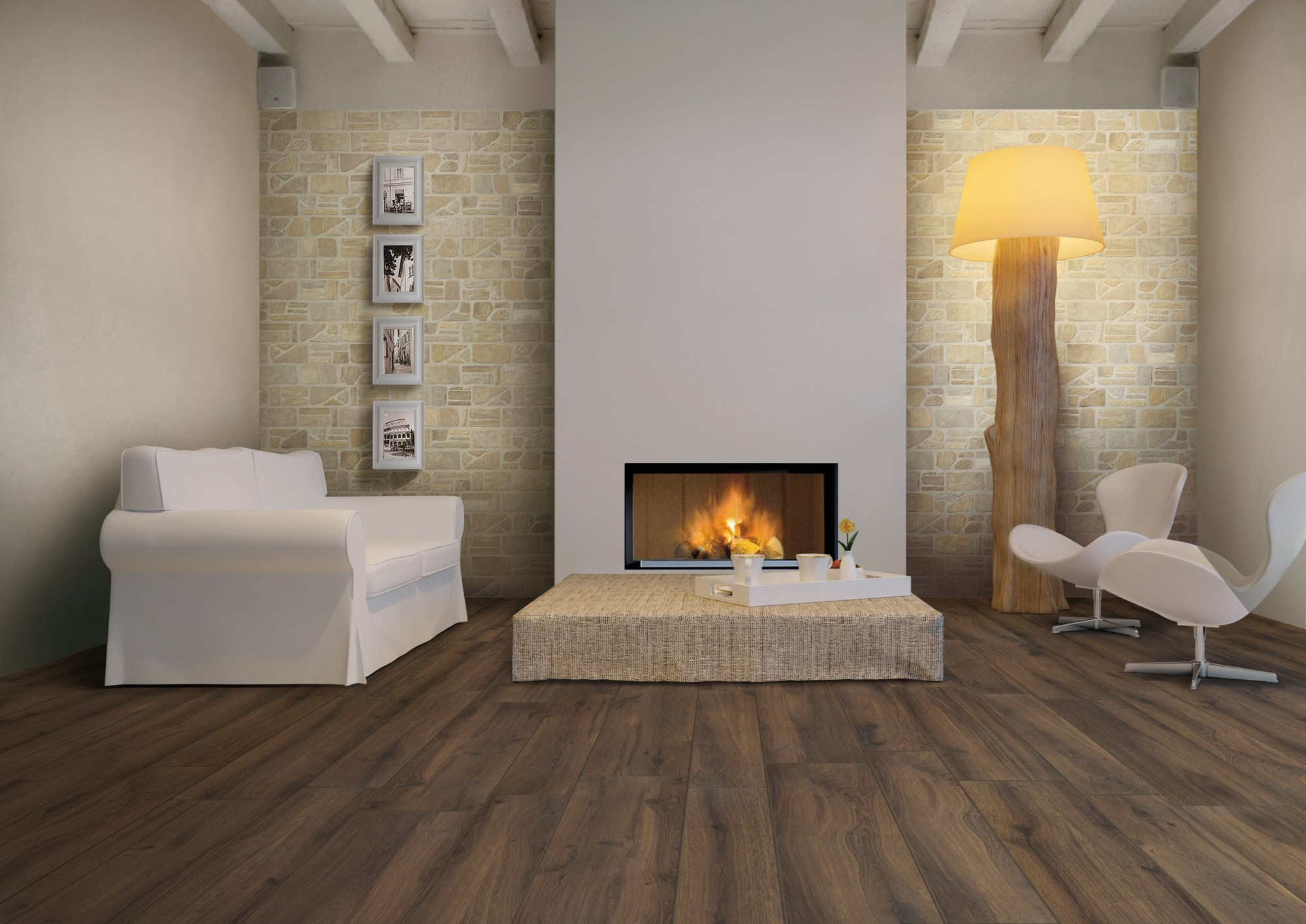 Pavimento rivestimento effetto pietra per interni ed esterni pietre di fiume by ceramica rondine - Pietra per interni parete ...