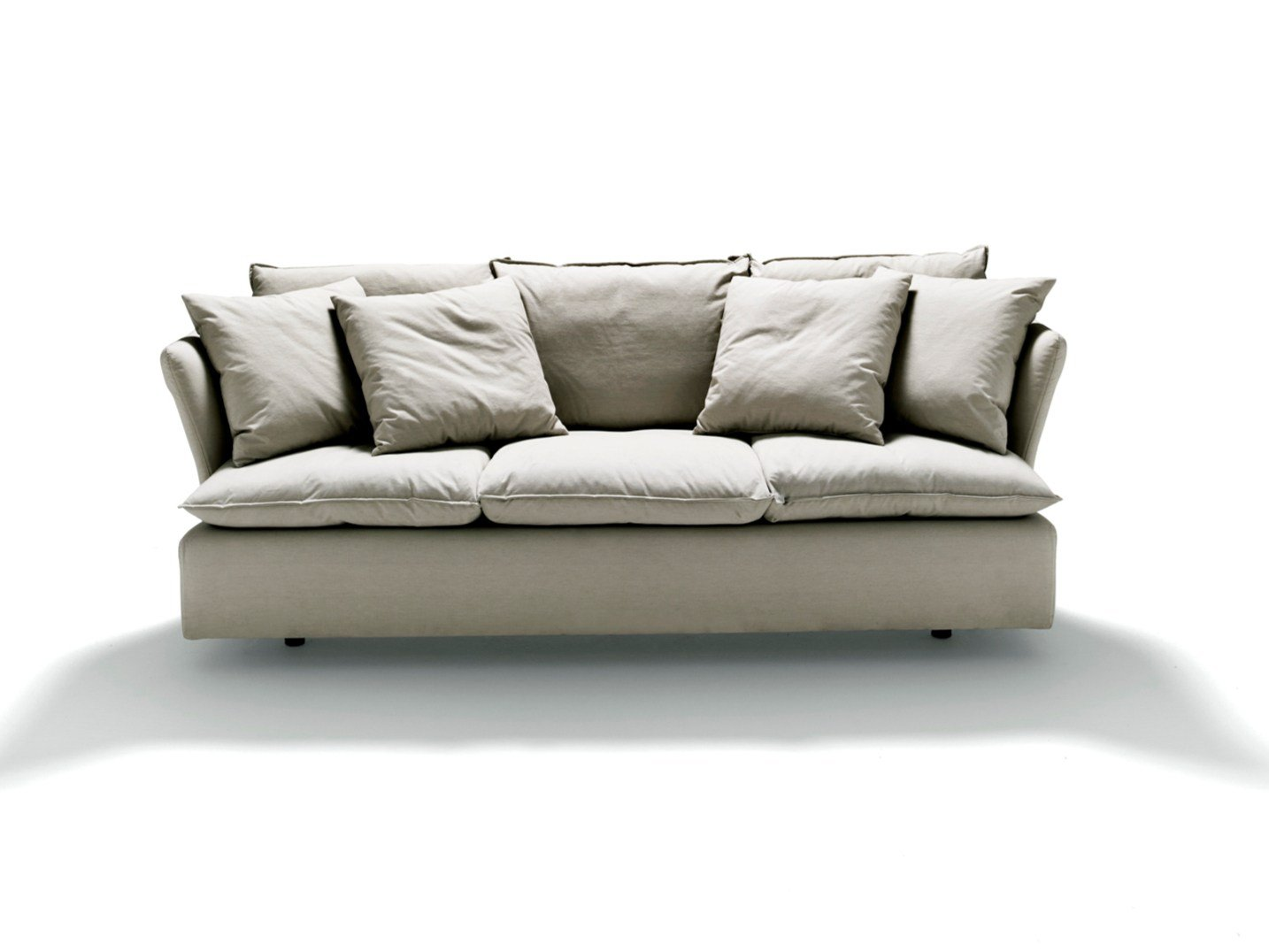Fabric Sofa With Removable Cover Pillow By De Padova