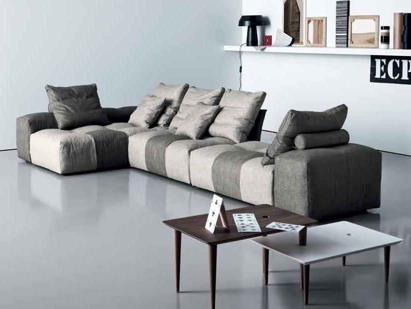 pixel canap d 39 angle by saba italia design sergio bicego. Black Bedroom Furniture Sets. Home Design Ideas