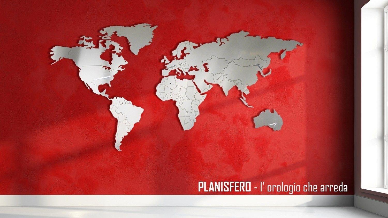 PLANISFERO 3XL Orologio by Carluccio Design design Marco Carluccio