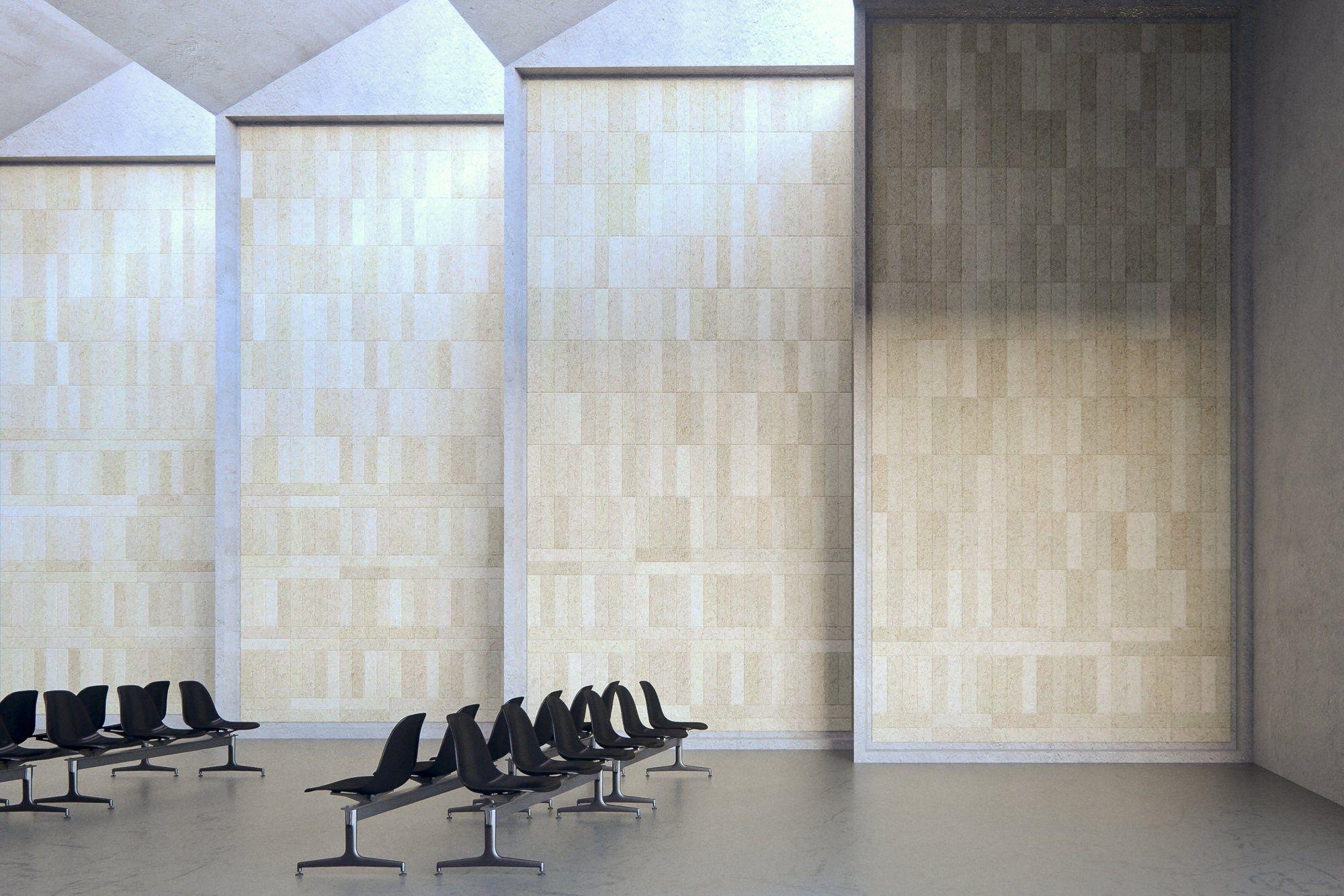 Decorative acoustical panel baux acoustic tile plank by baux design form us with love - Decorative acoustical wall panels ...