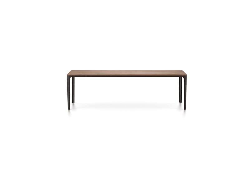 niedriger couchtisch f r wohnzimmer plate table by vitra design jasper morrison. Black Bedroom Furniture Sets. Home Design Ideas