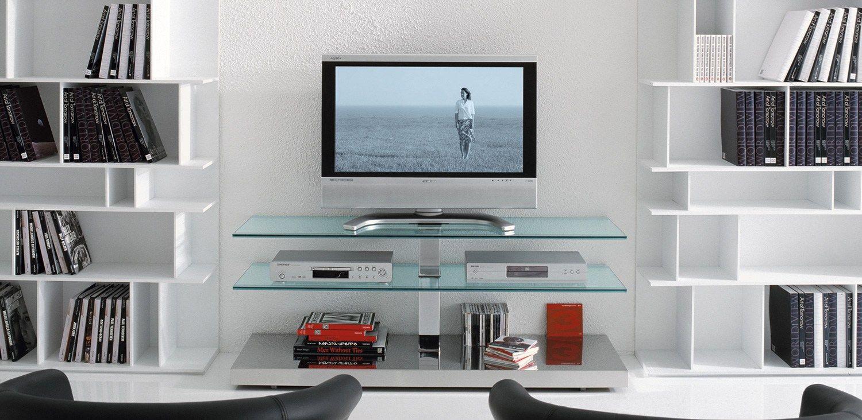 Mueble tv con ruedas play by cattelan italia dise o paolo for Mueble tv con ruedas
