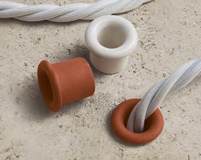 Cable gland system PLEIADI Wire guide in ceramic Pleiadi ...