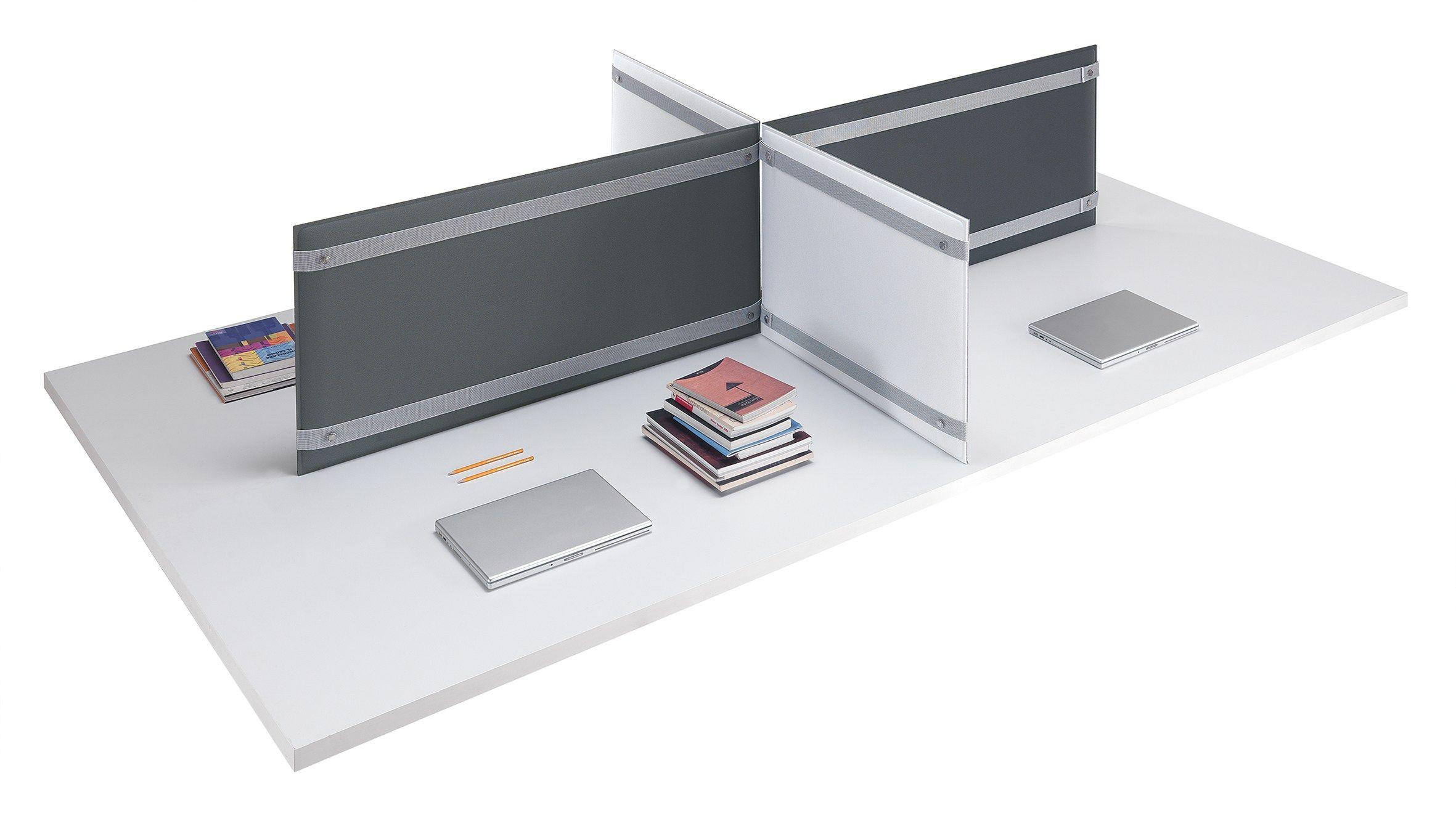 Pannello divisorio da scrivania fonoassorbente pli desk by for Accessori per ufficio design