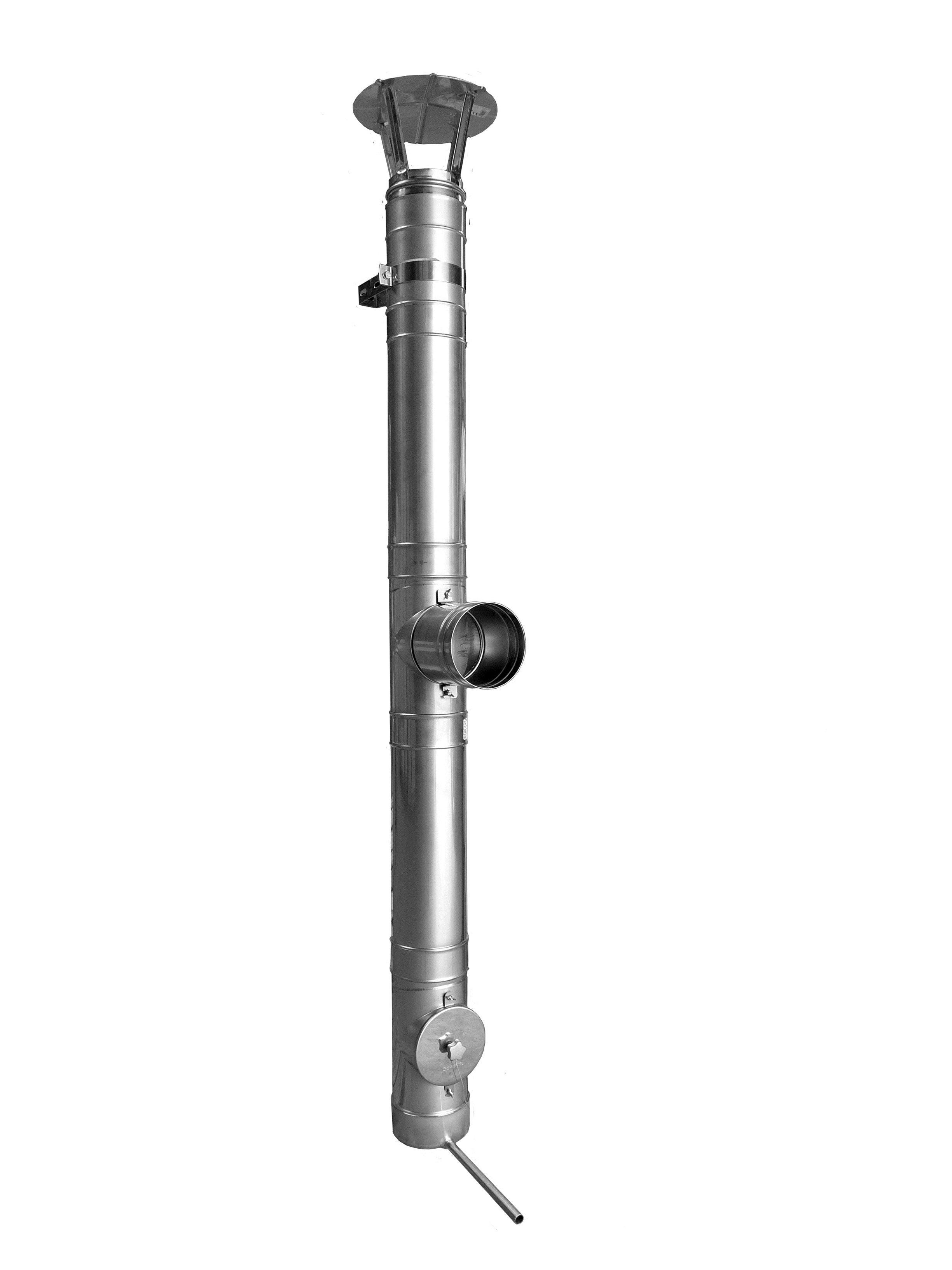 Canna fumaria in acciaio inox PRIMA 1 - Monoparete sp. 1 mm by Schiedel