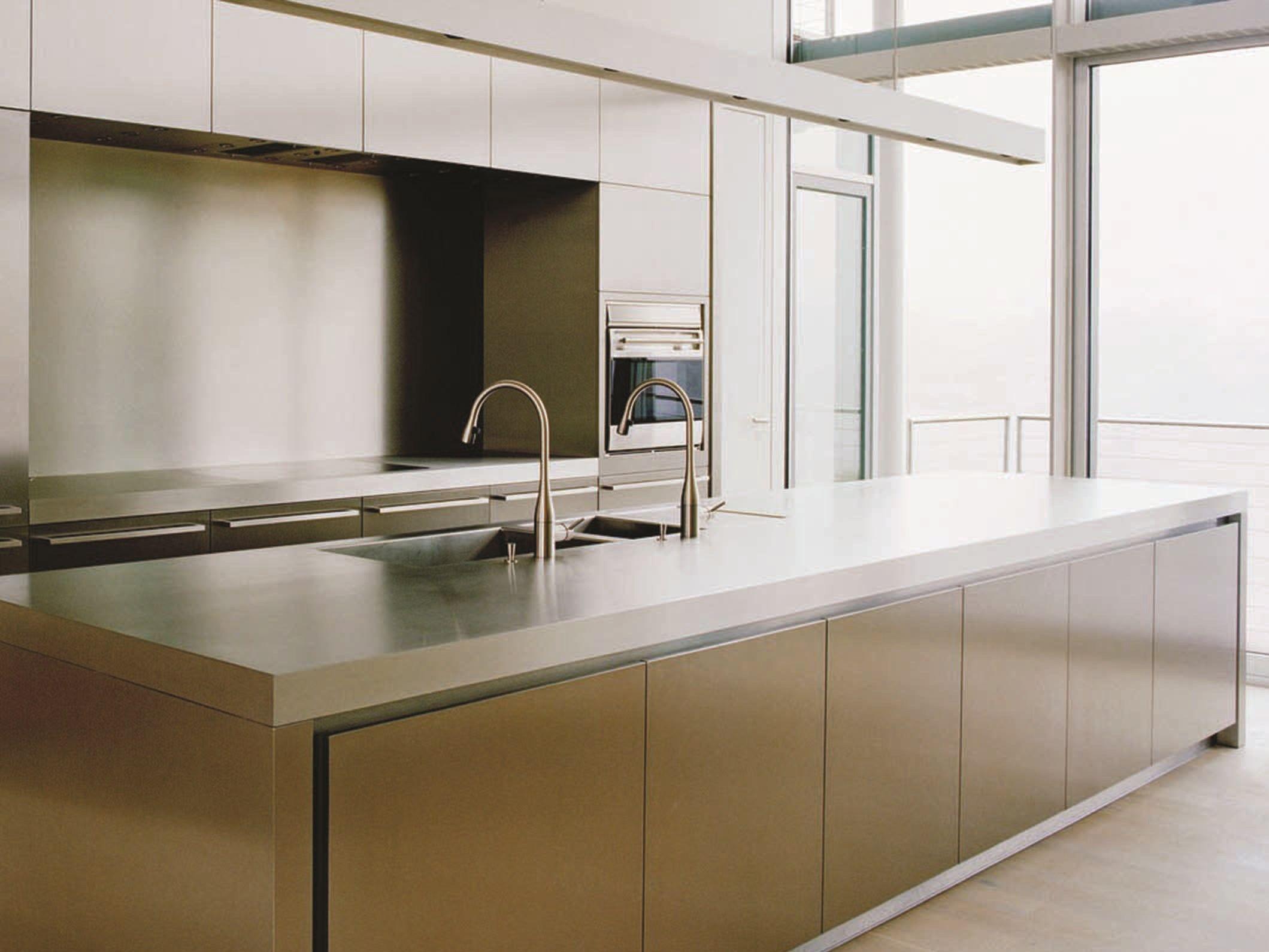 Cucina in acciaio inox npu progr inx by strato cucine - Cucina in acciaio inox ...