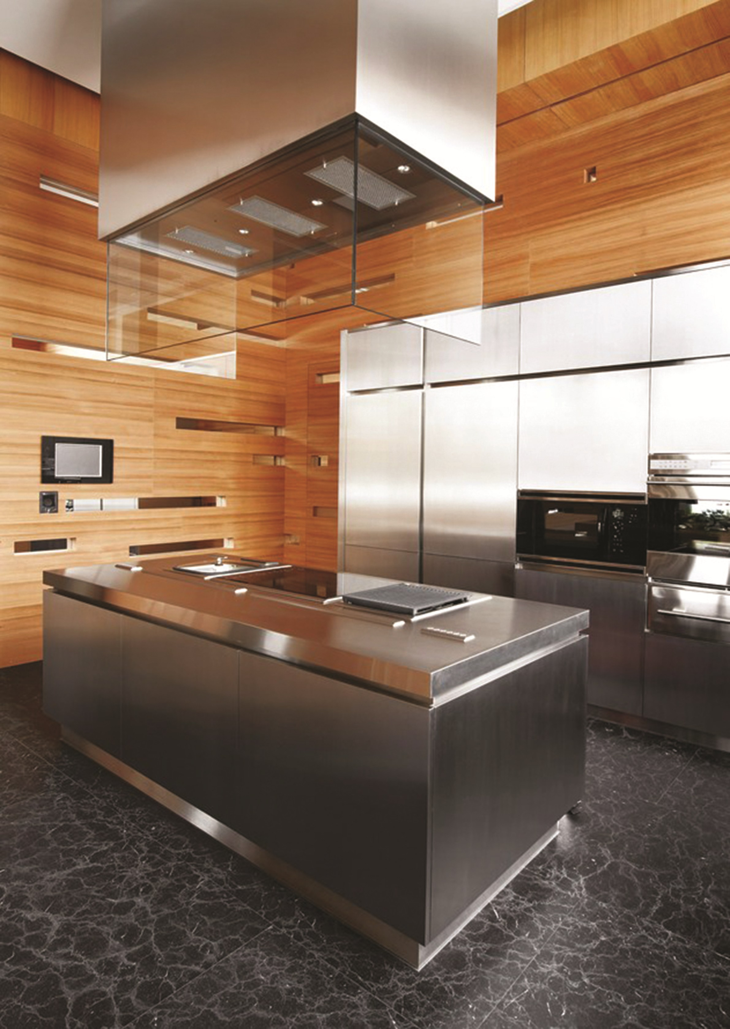 Cucina in acciaio inox npu progr inx by strato cucine - Cucine wolf italia ...