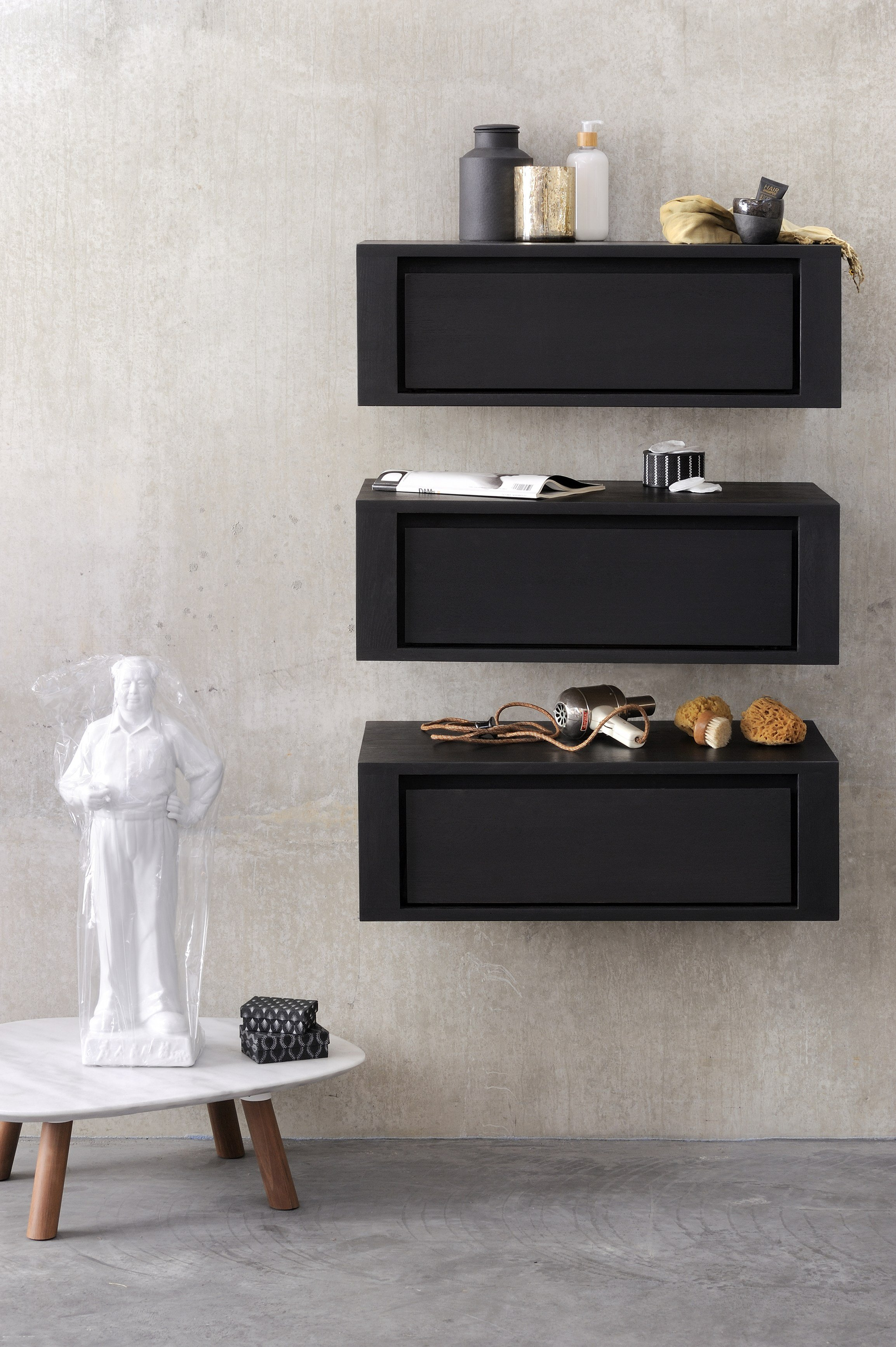 Black Wall Cabinet qualitime black | wall cabinetethnicraft