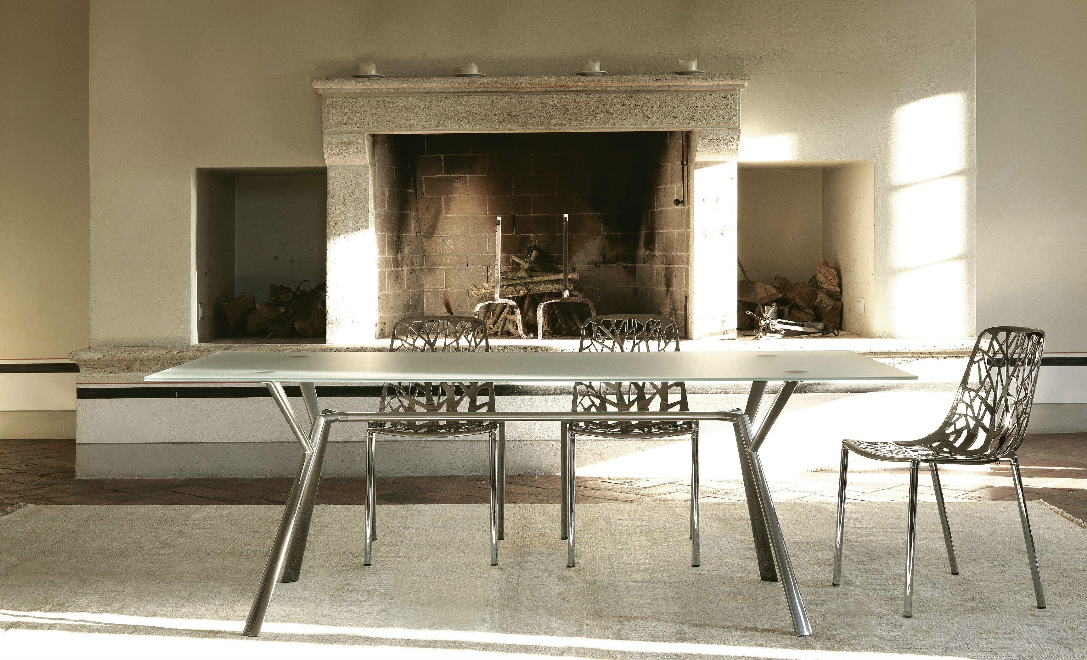 Radice quadra tavolo collezione radice quadra by fast - Tavolo con radice ...