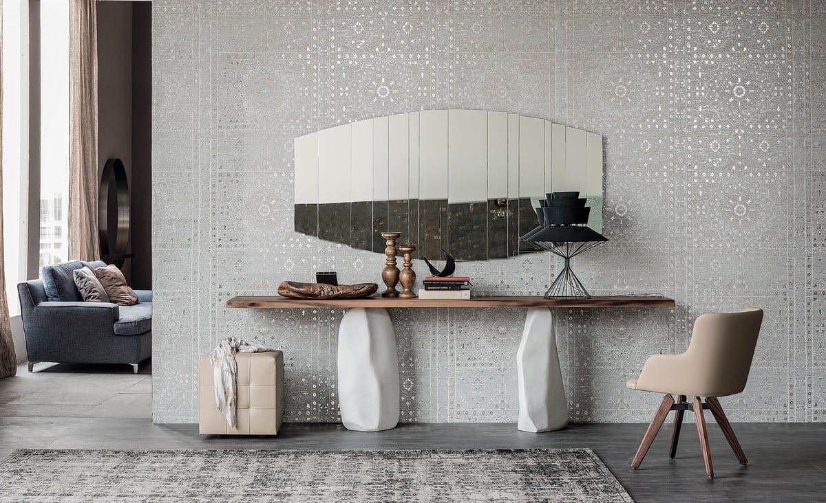 Consolle Design Piano Legno Massello Westin Cattelan : Consolle rettangolare in legno rapa nui by cattelan italia