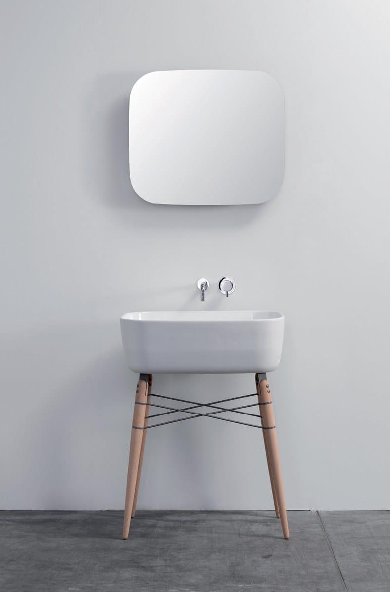 Miroir avec rangement pour salle de bain ray mirror by ex - Miroir salle de bain avec rangement ...