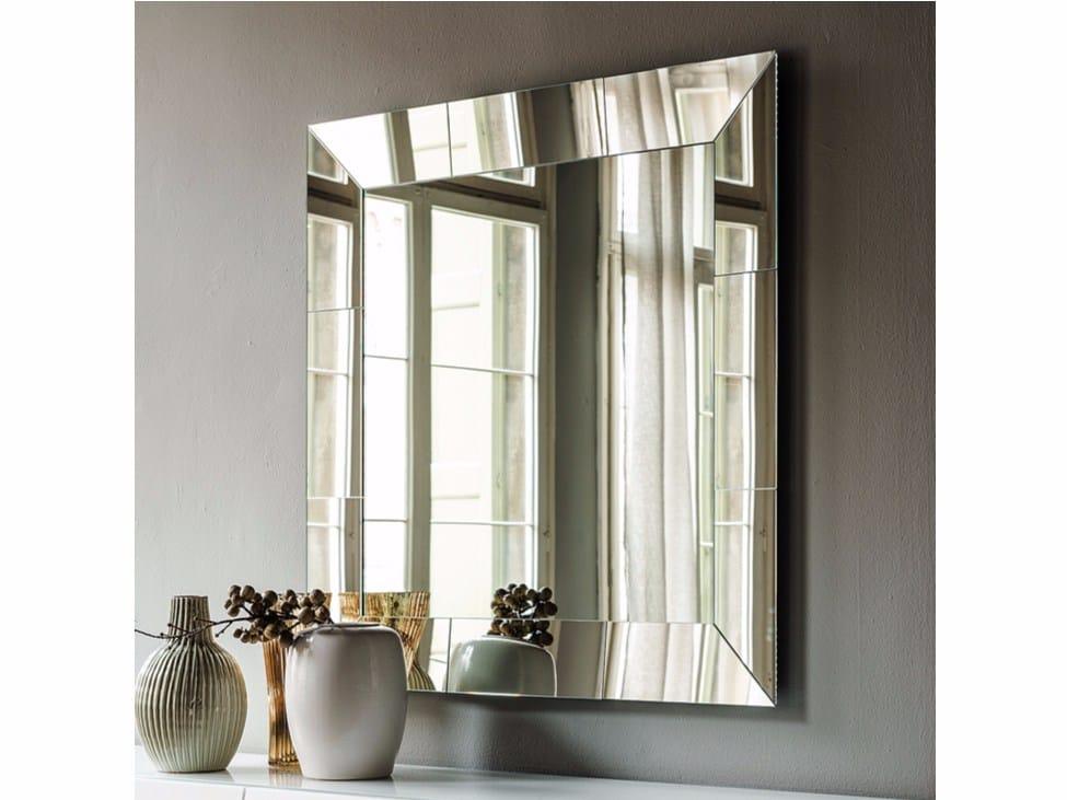Specchio a parete con cornice regal by cattelan italia for Miroir 200x80