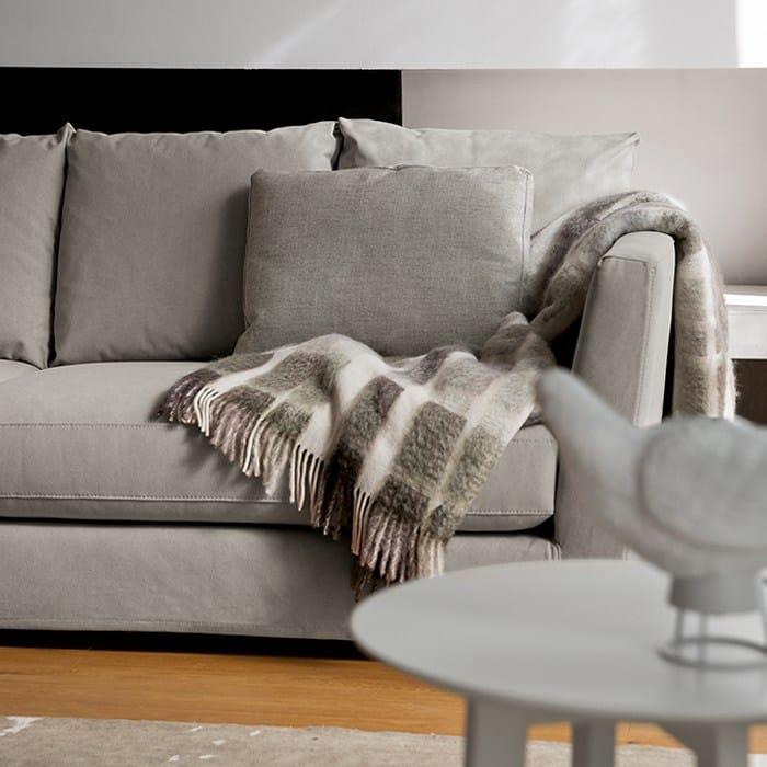 Sofá 3 plazas de tela con funda extraíble relax by dall'agnese ...
