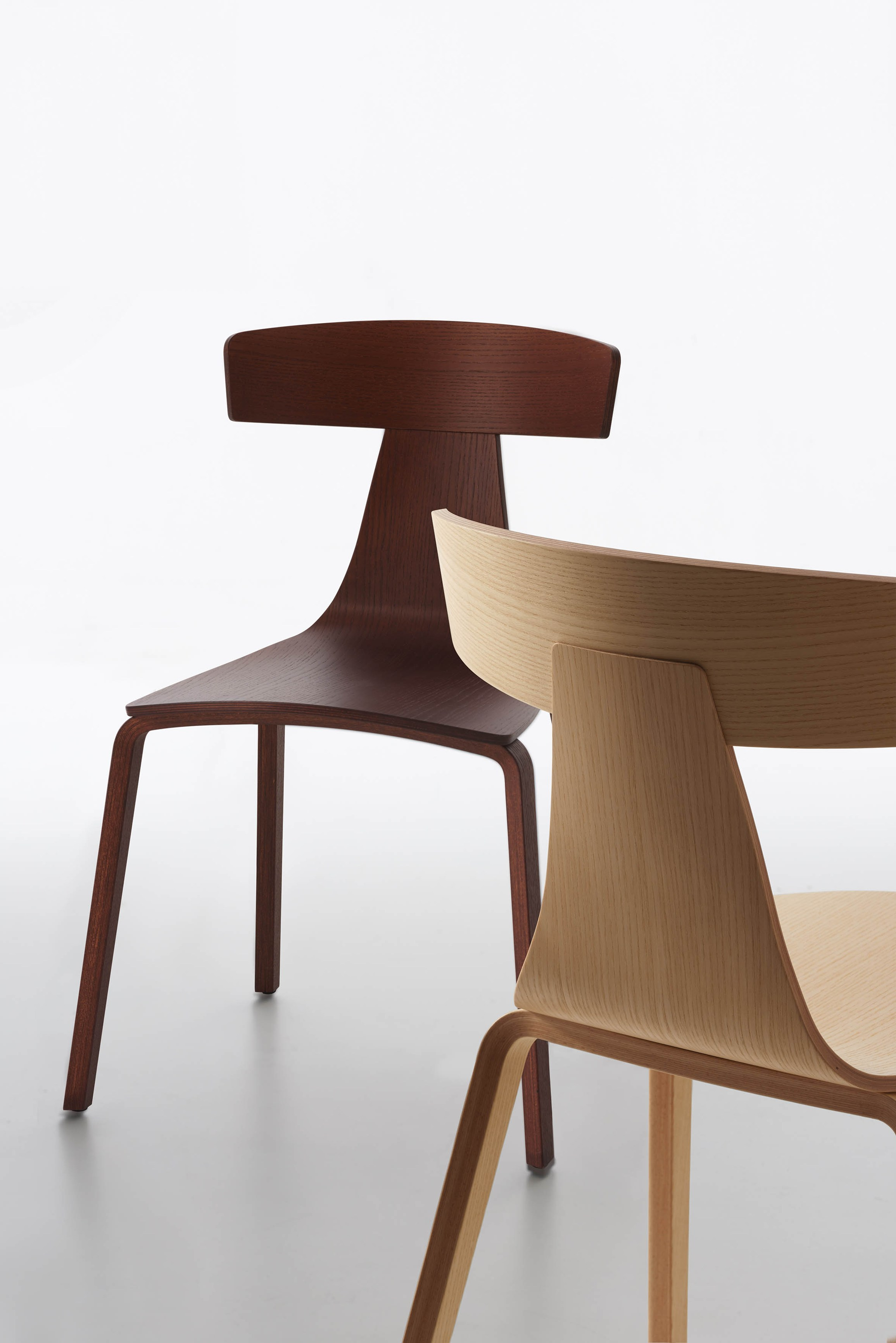 Plywood chair remo wood by plank design konstantin grcic