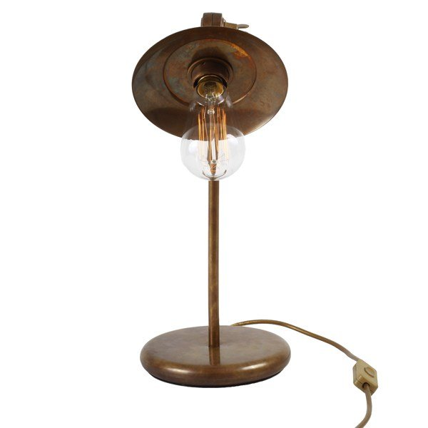 Reznor industrial table lamp by mullan lighting design for Industrial design table lamps