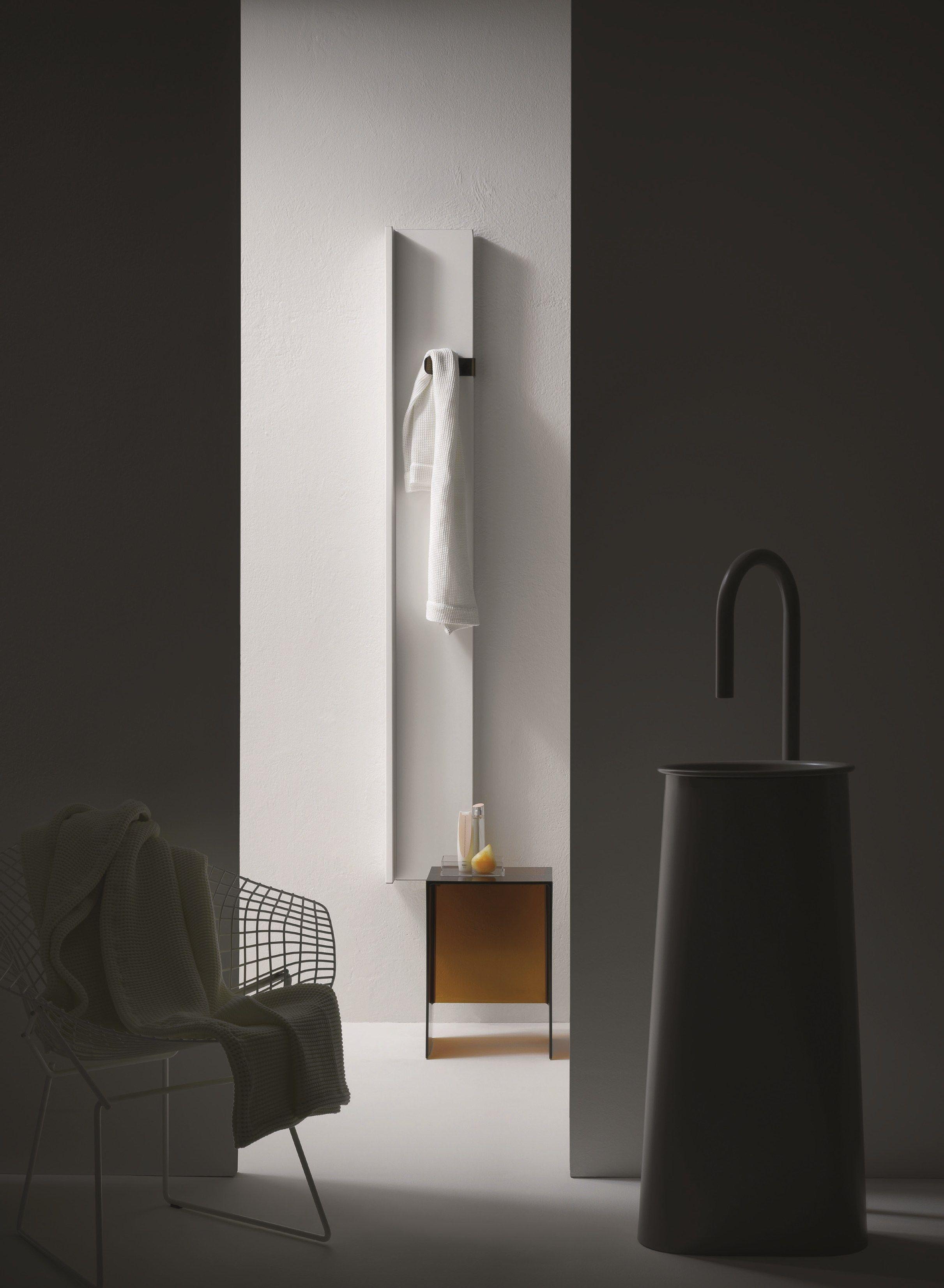 Termoarredo elettrico verticale rift collezione elements - Termoarredo orizzontale bagno ...