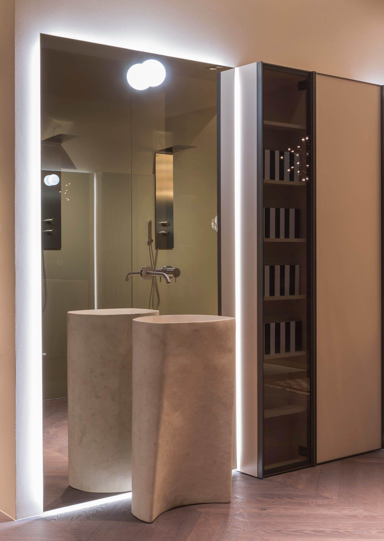 Lavabo Freestanding In Pietra Naturale Rilievo By Antonio Lupi Design Design Carlo Colombo