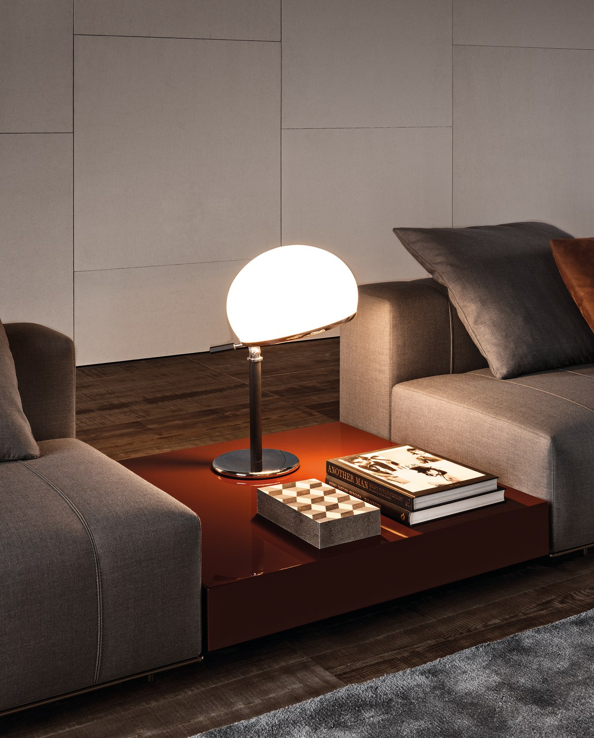 Coffee Table Ritter By Minotti Design Rodolfo Dordoni