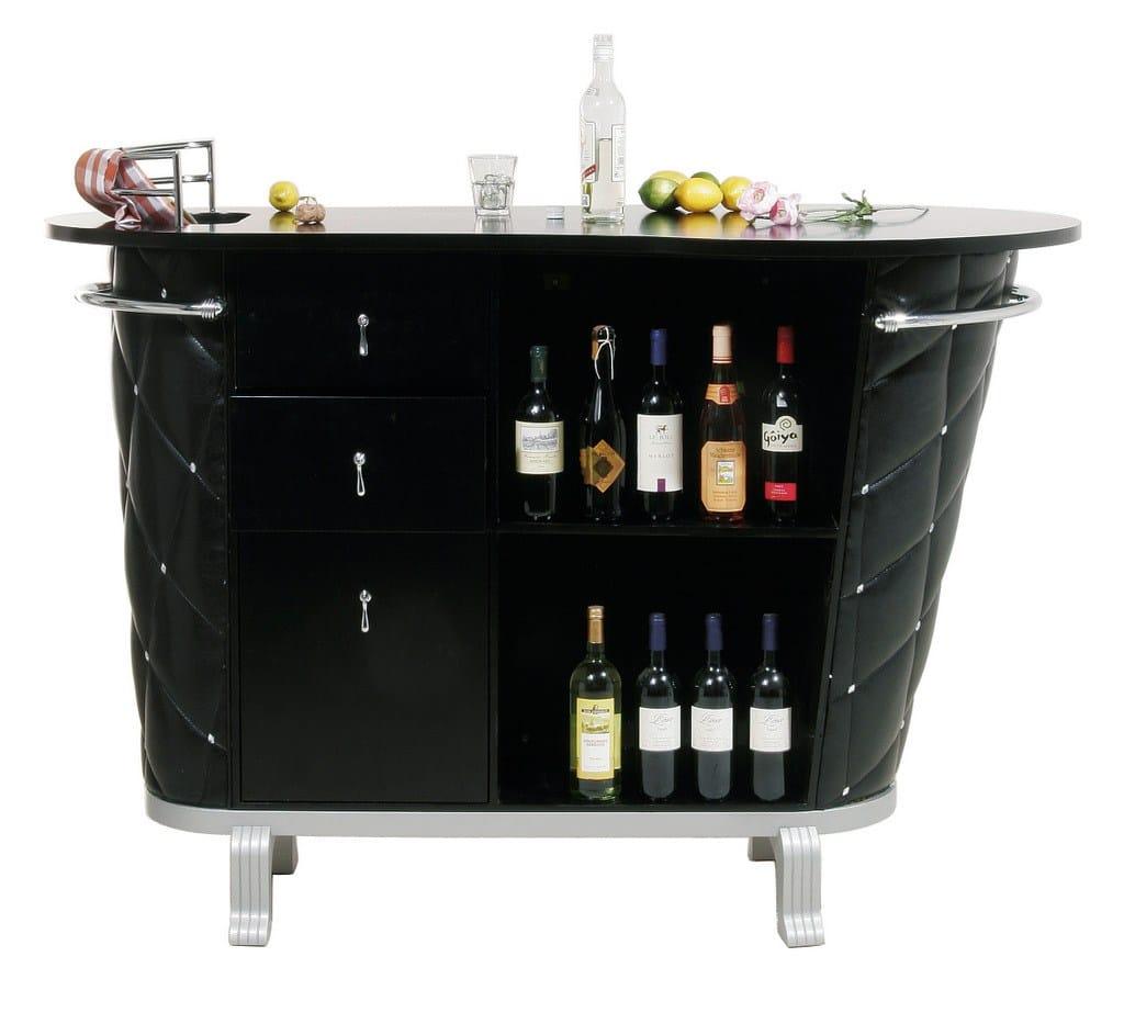 Mobile bar laccato ROCKSTAR BLACK by KARE-DESIGN