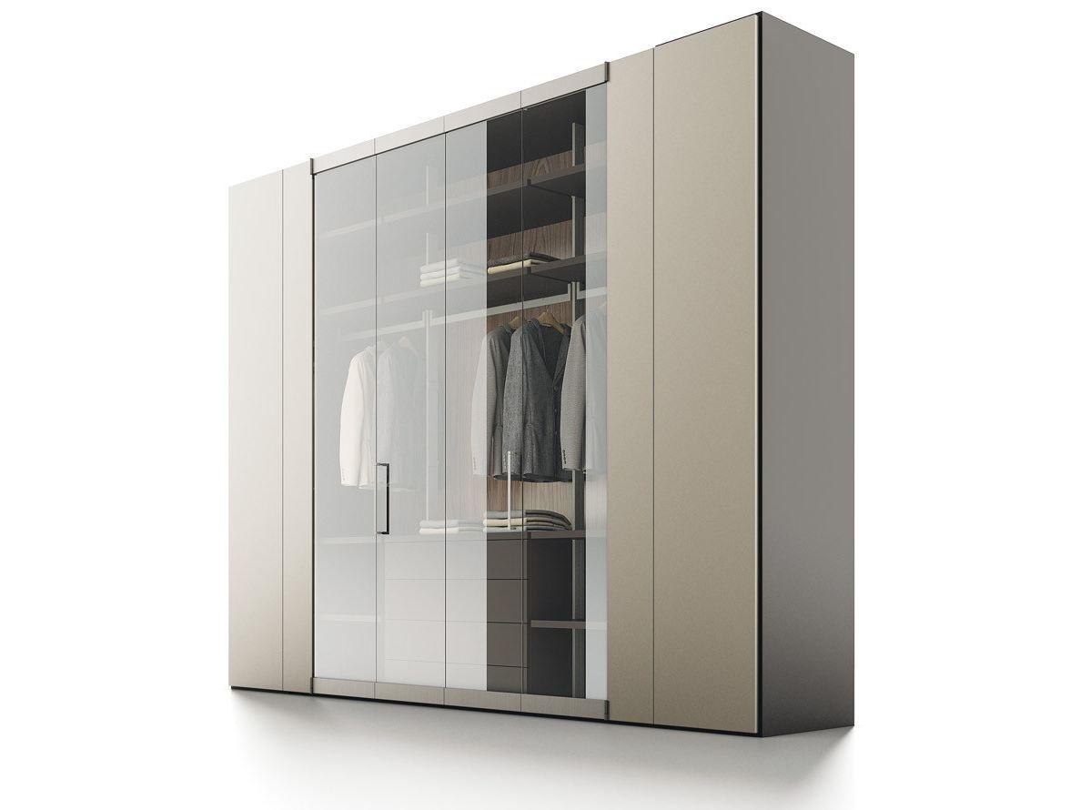 Roomy armadio in legno e vetro by caccaro design sandi renko r d caccaro - Caccaro mobili prezzi ...