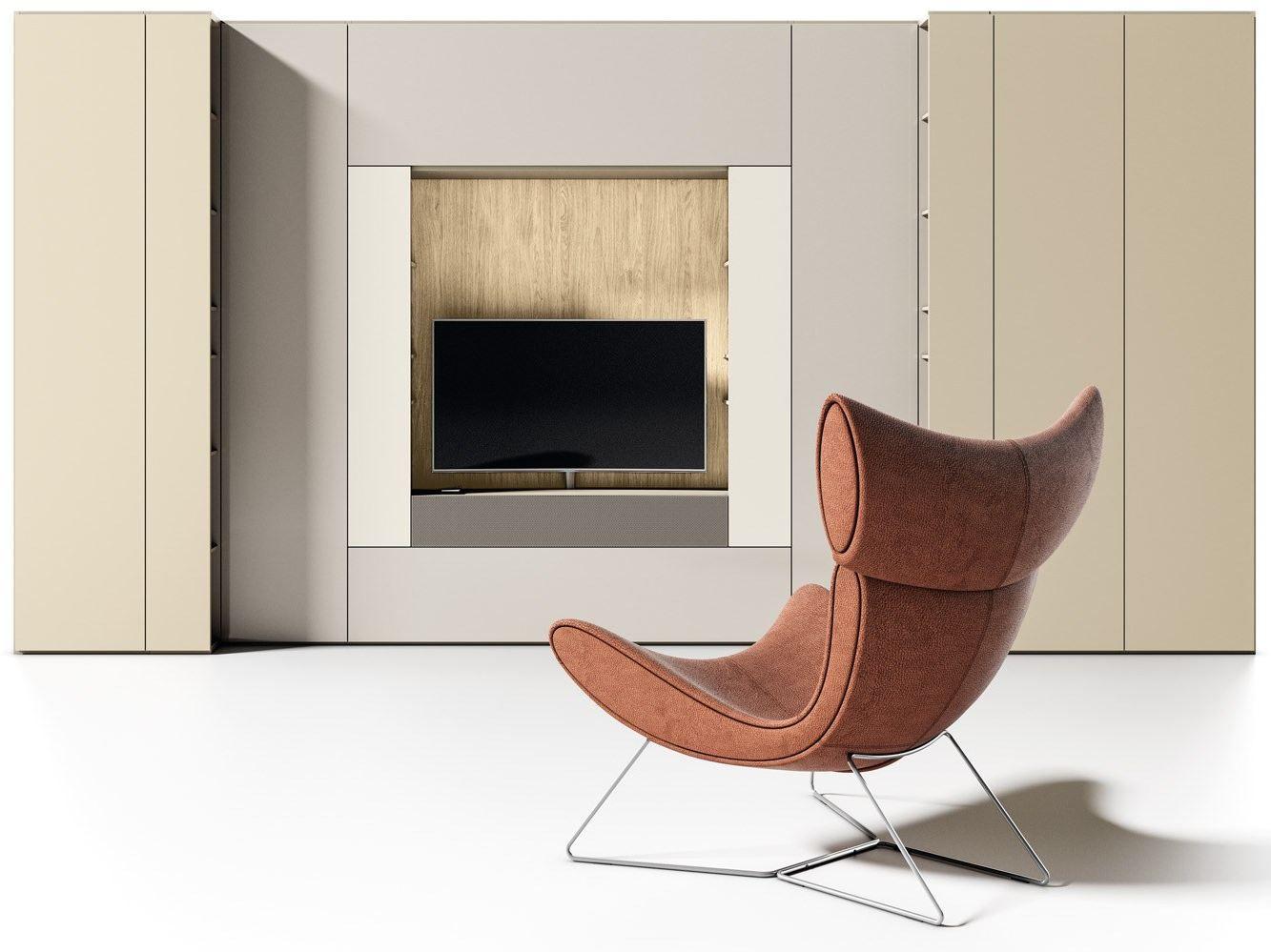 Roomy tv  wohnwand by caccaro design sandi renko, r&d caccaro